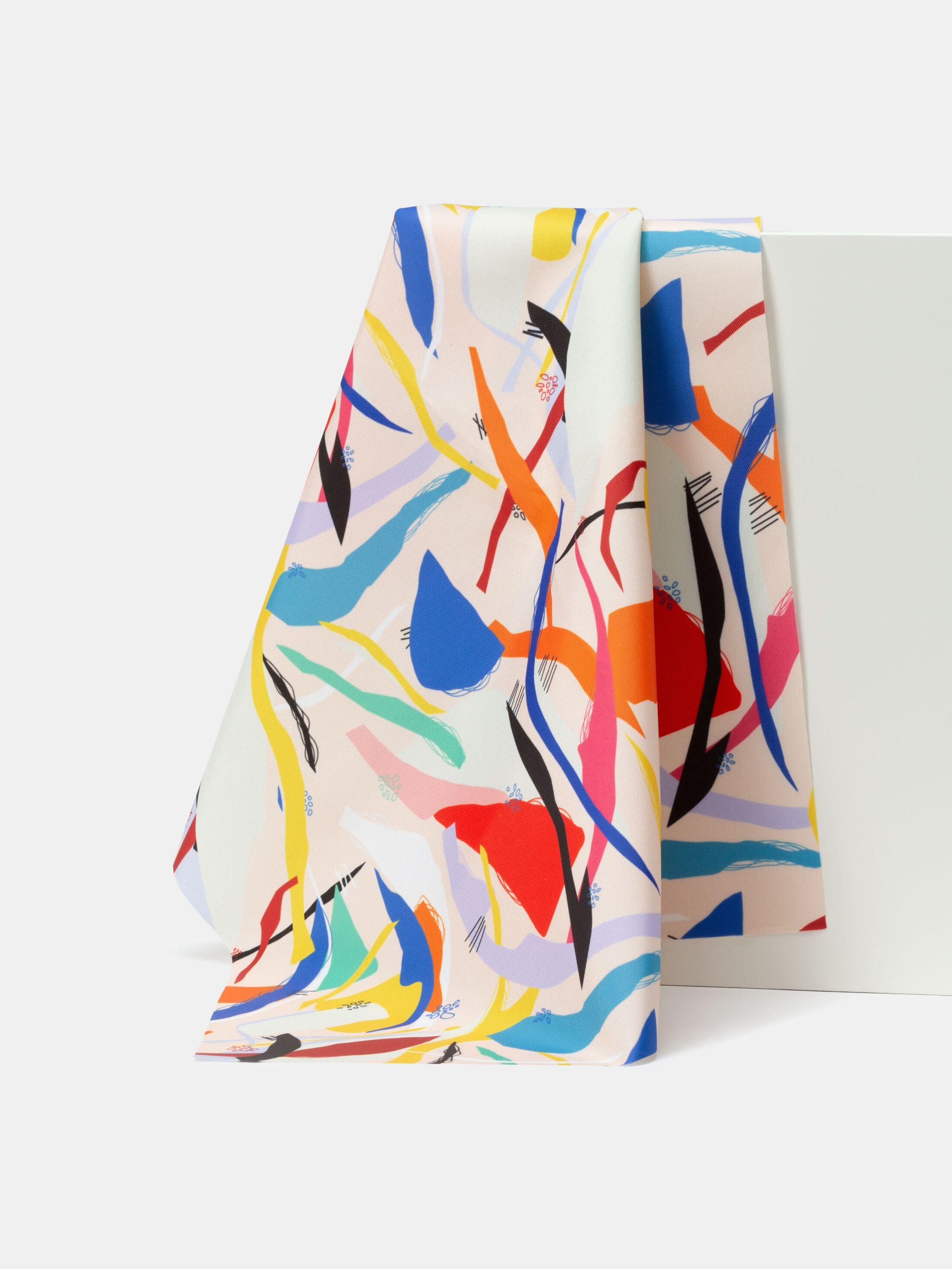 Vattentätt textil med eget mönster