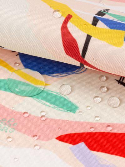 Vattentät textil Linden på metervara