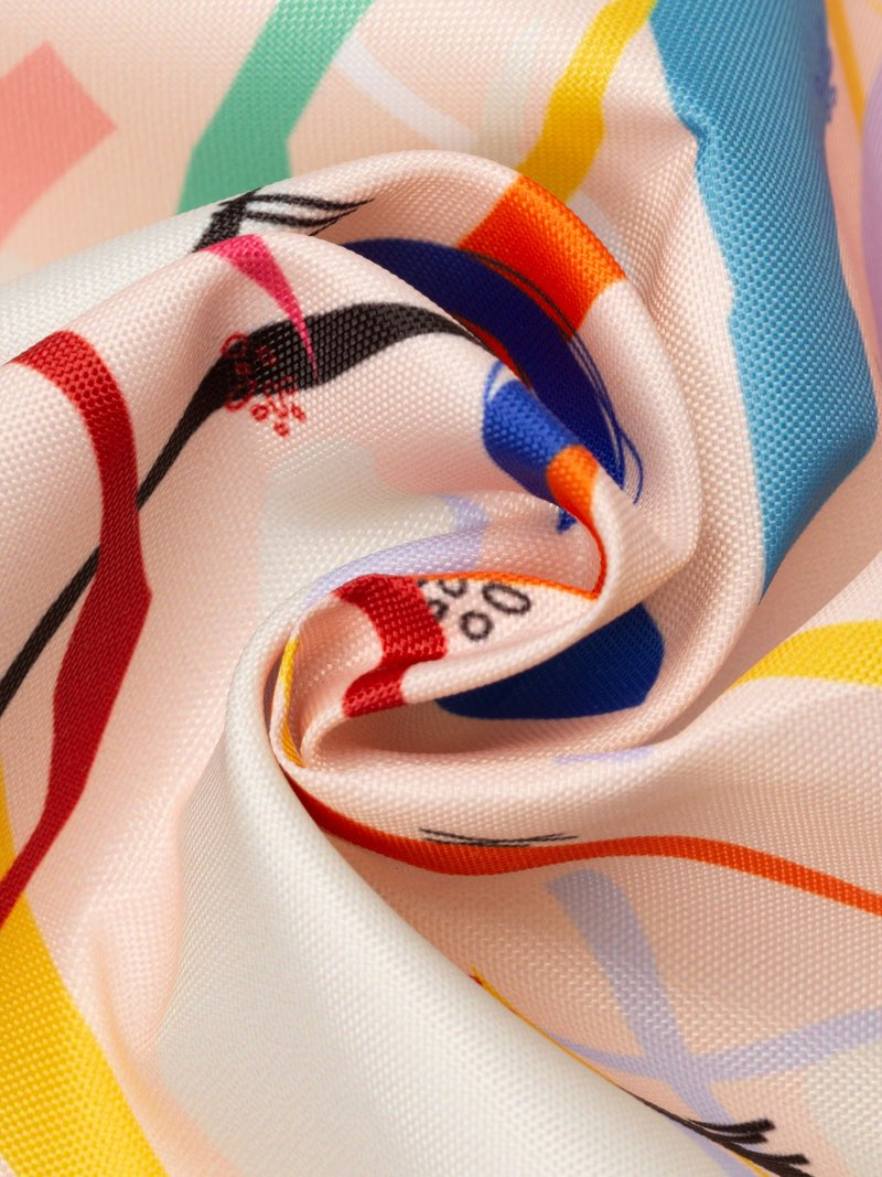 impression design sur tissu enduit