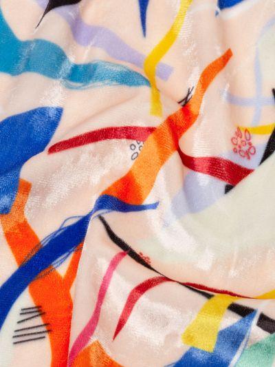 crush velour trouser fabric