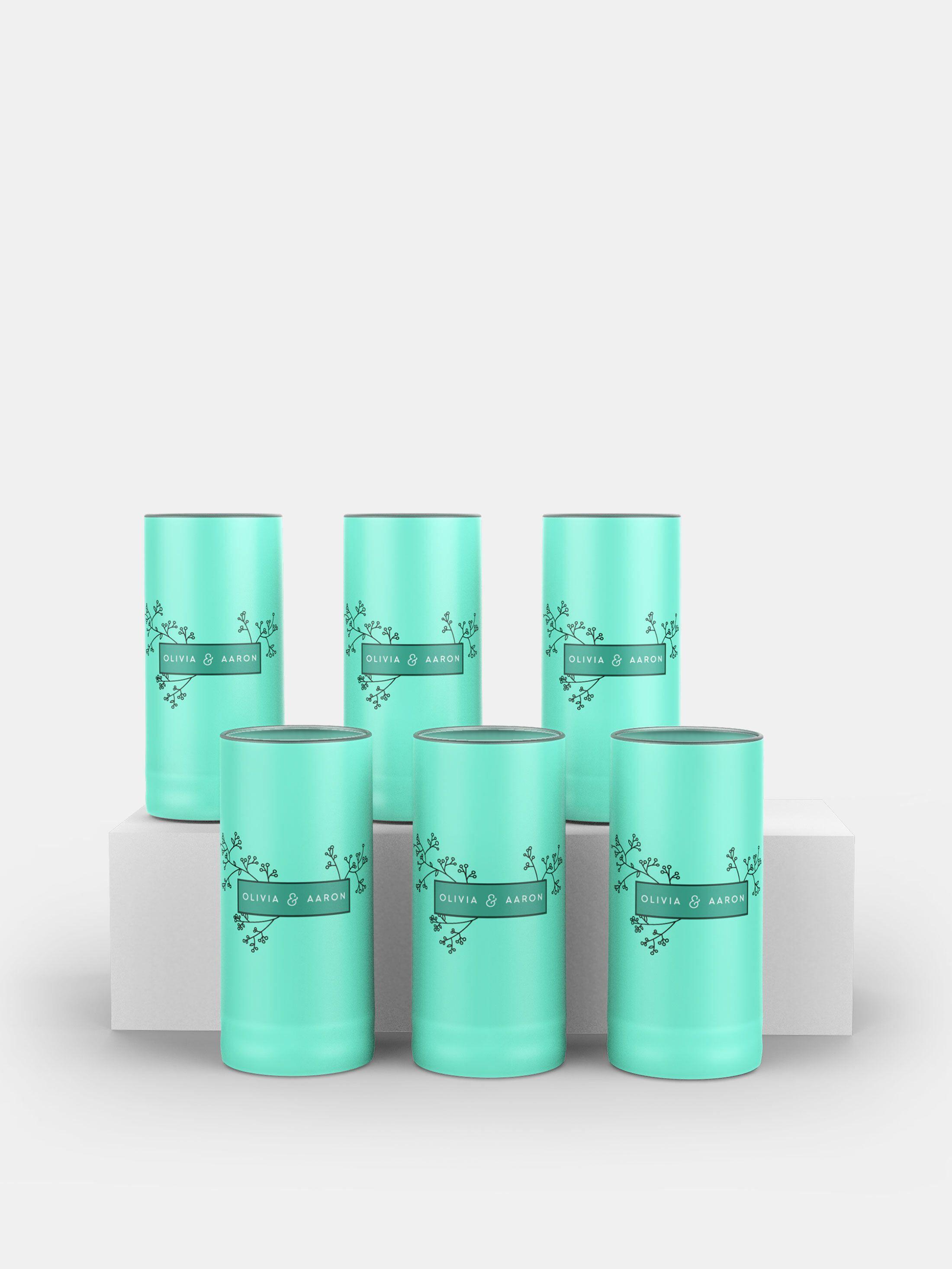 logo custom tequila glasses