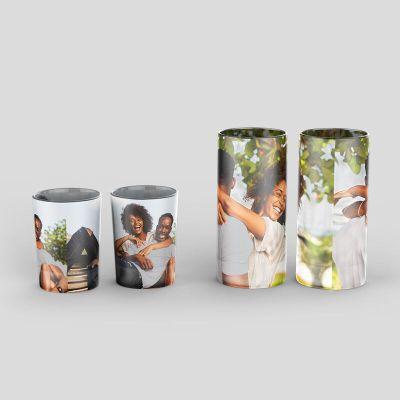 Vasos de Chupito Cilindricos personalizados