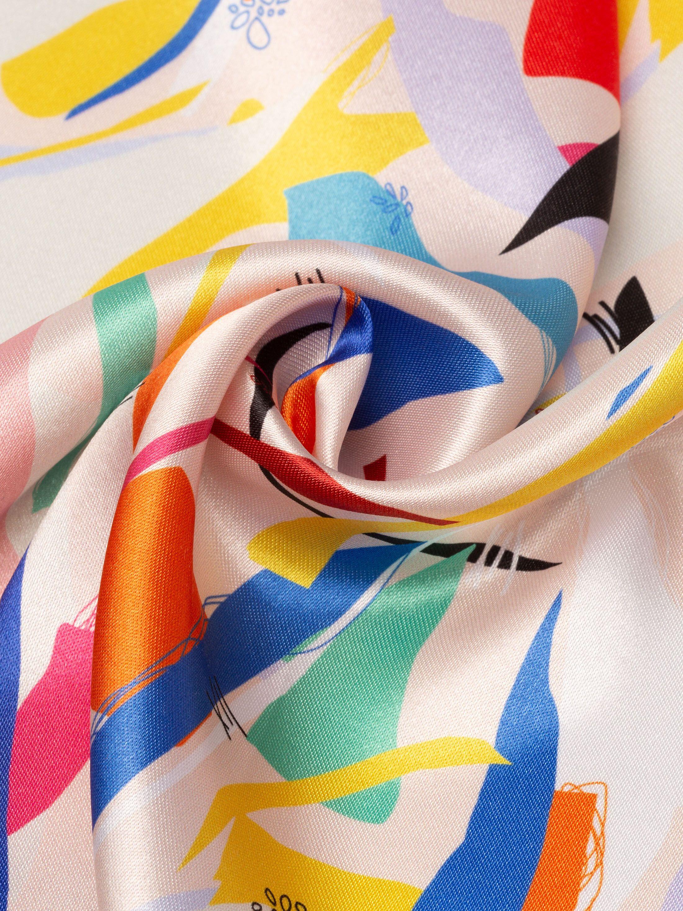 Glänzenden satin bedrucken lassen glänzender stoff