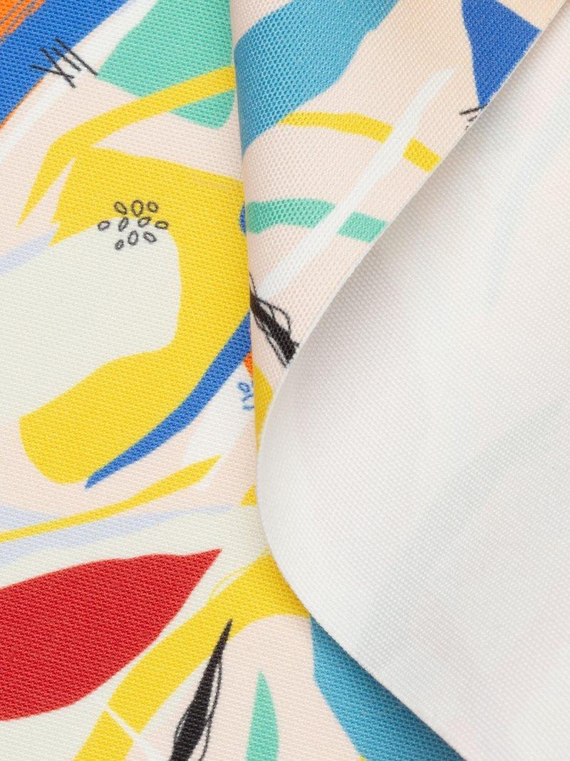 geplooid oppervlak canvas stof