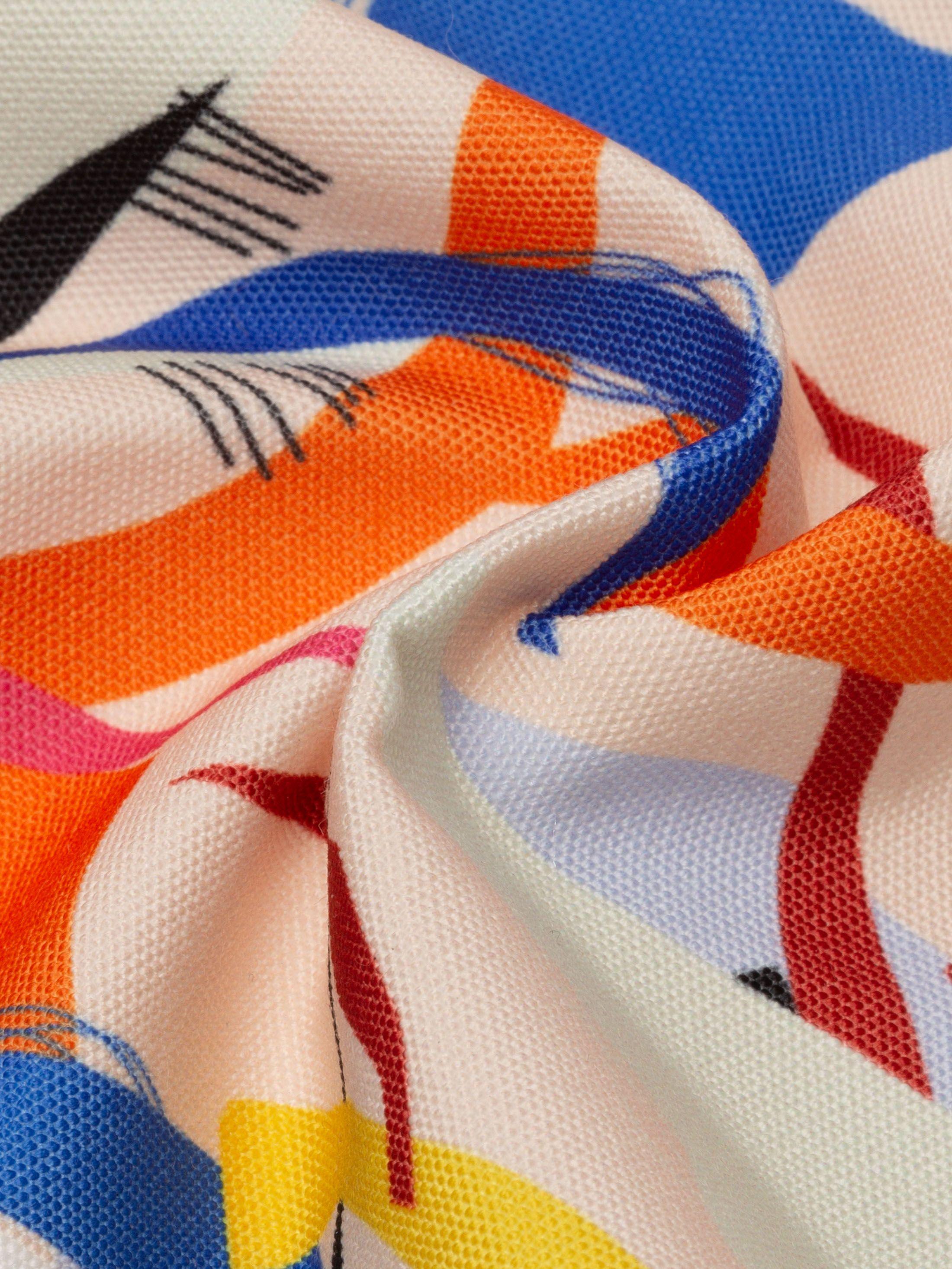 digital design printed canvas fabric