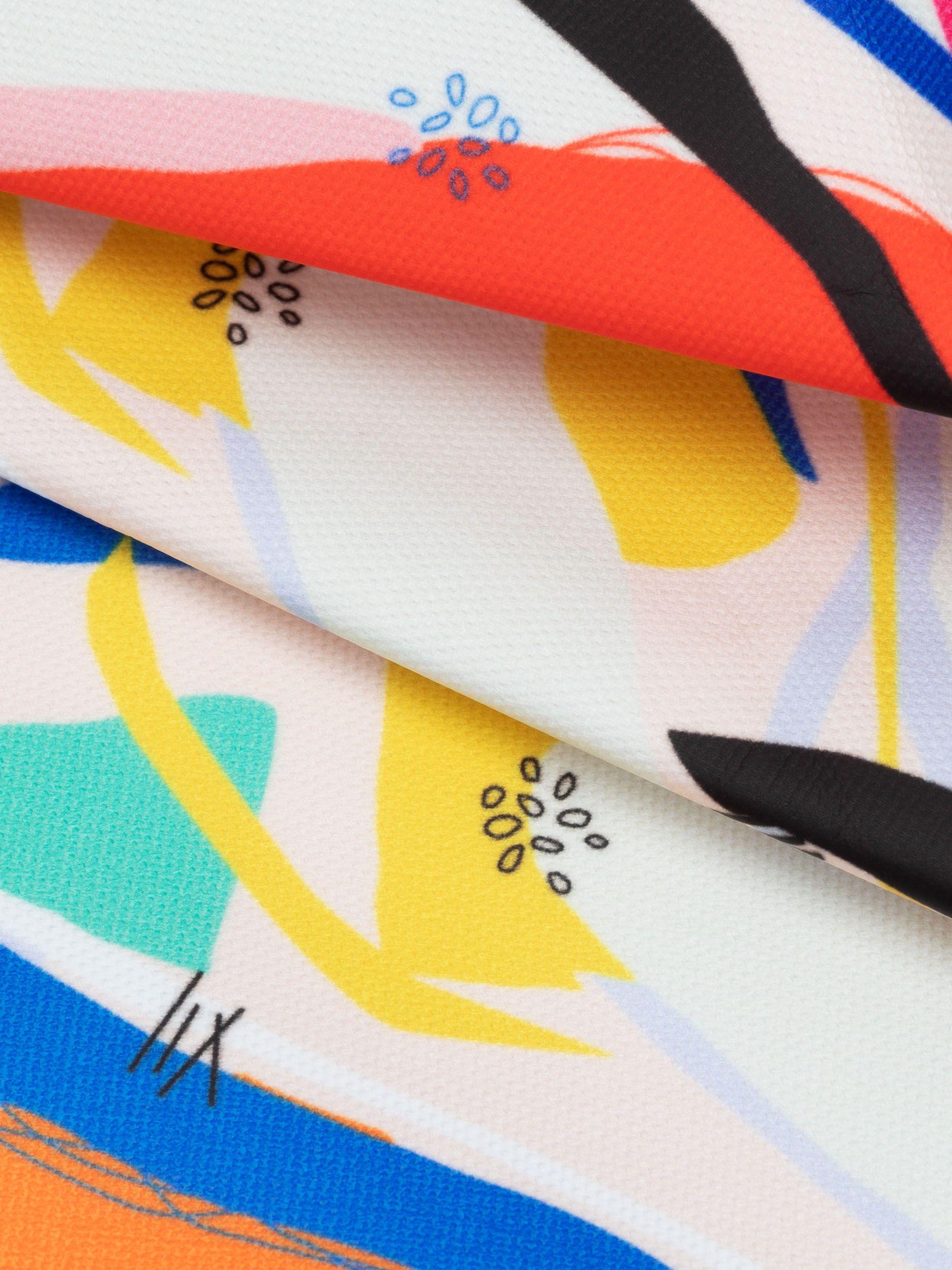 Design your own matt oilcloth fabric