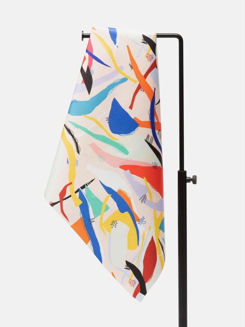 Design your own matt oilcloth fabric, matt finish texture