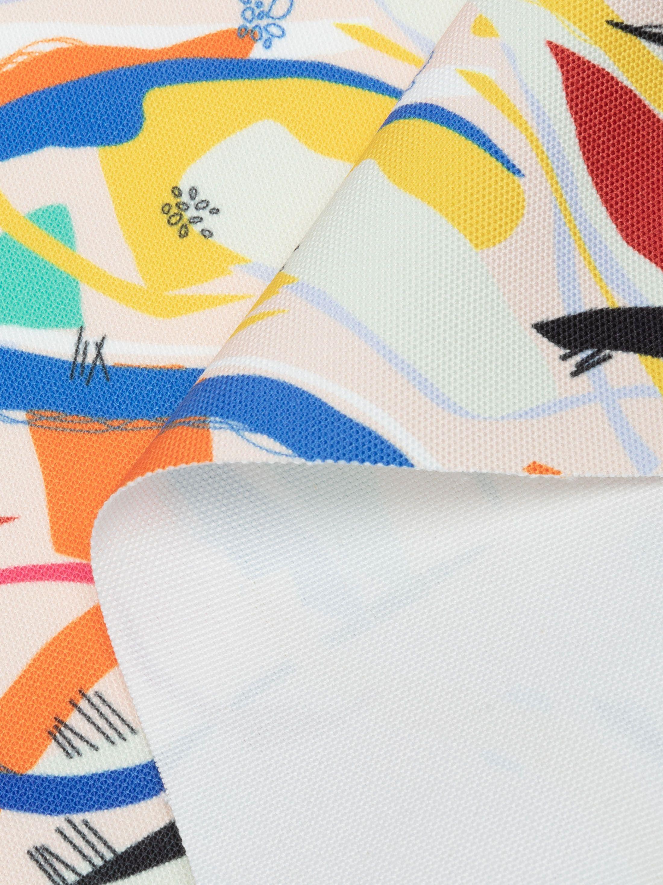 Tessuto in tela nautica stampata