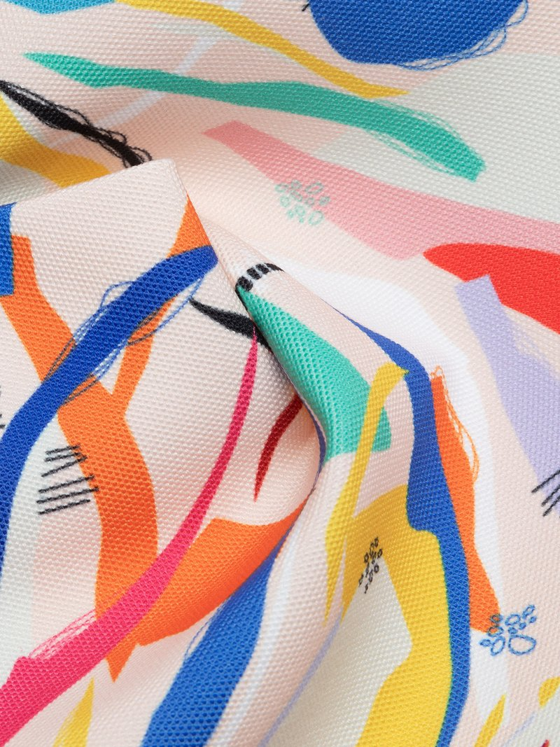 custom printed canvas fabric