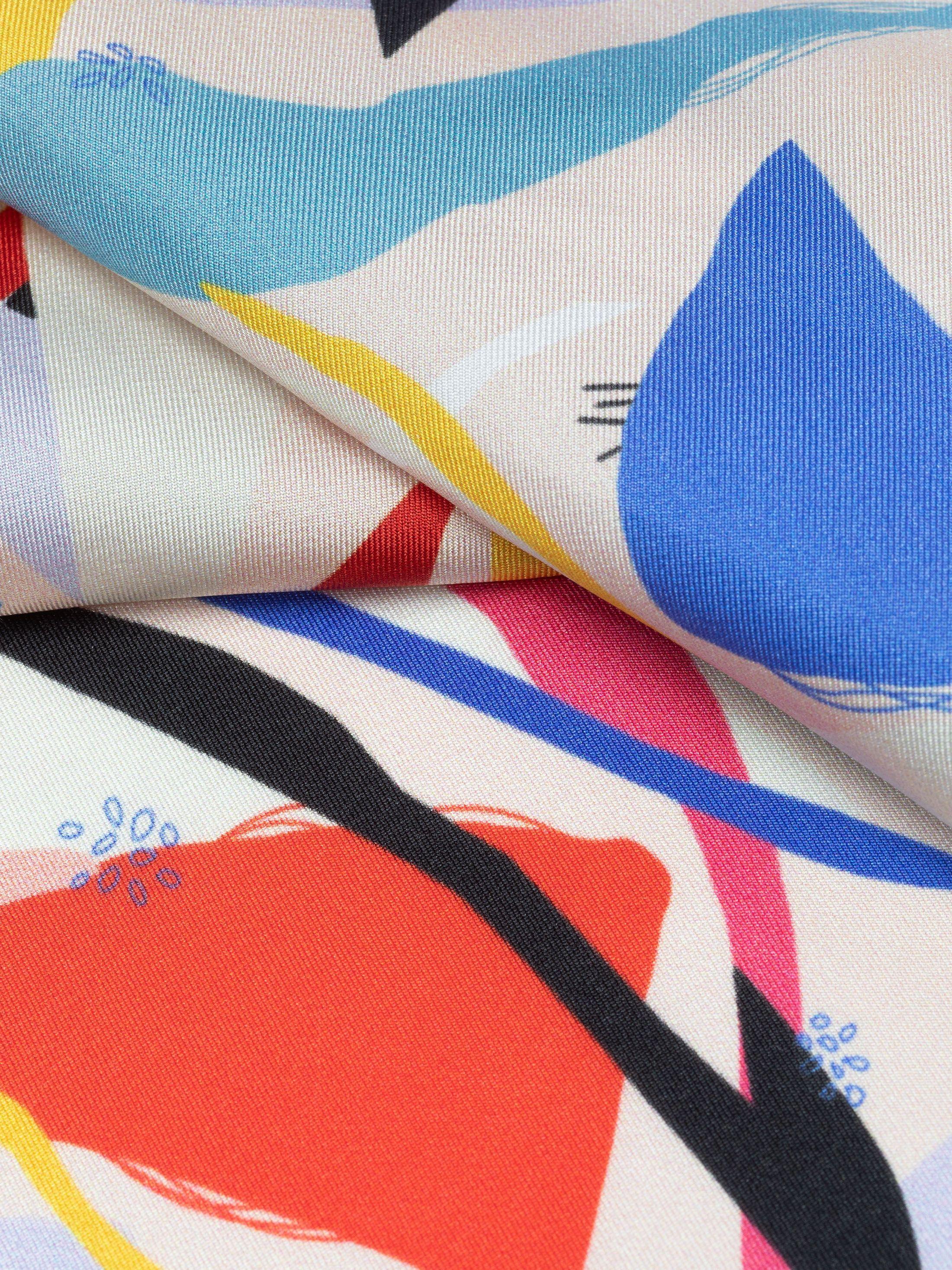 twill fabric in silk