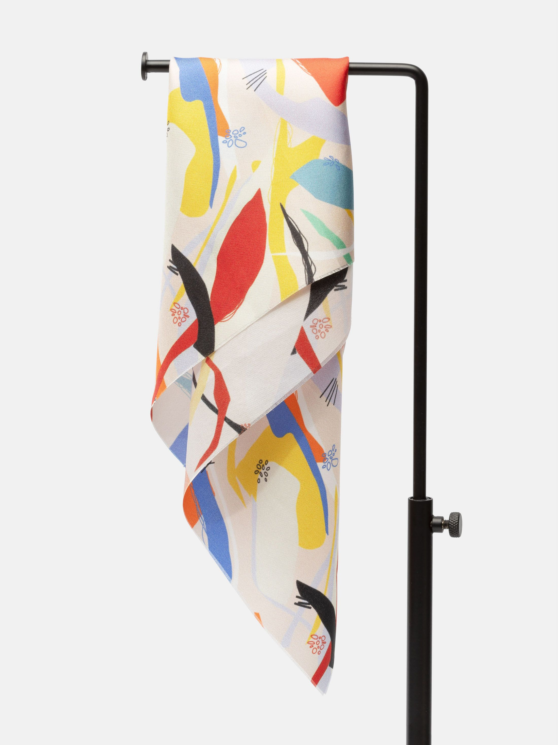 custom printed silk twill