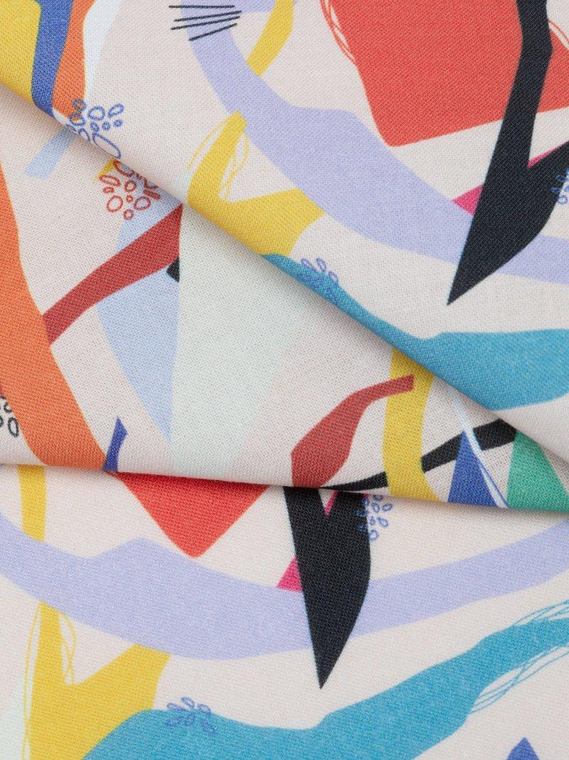 folded corner Cotton Calico