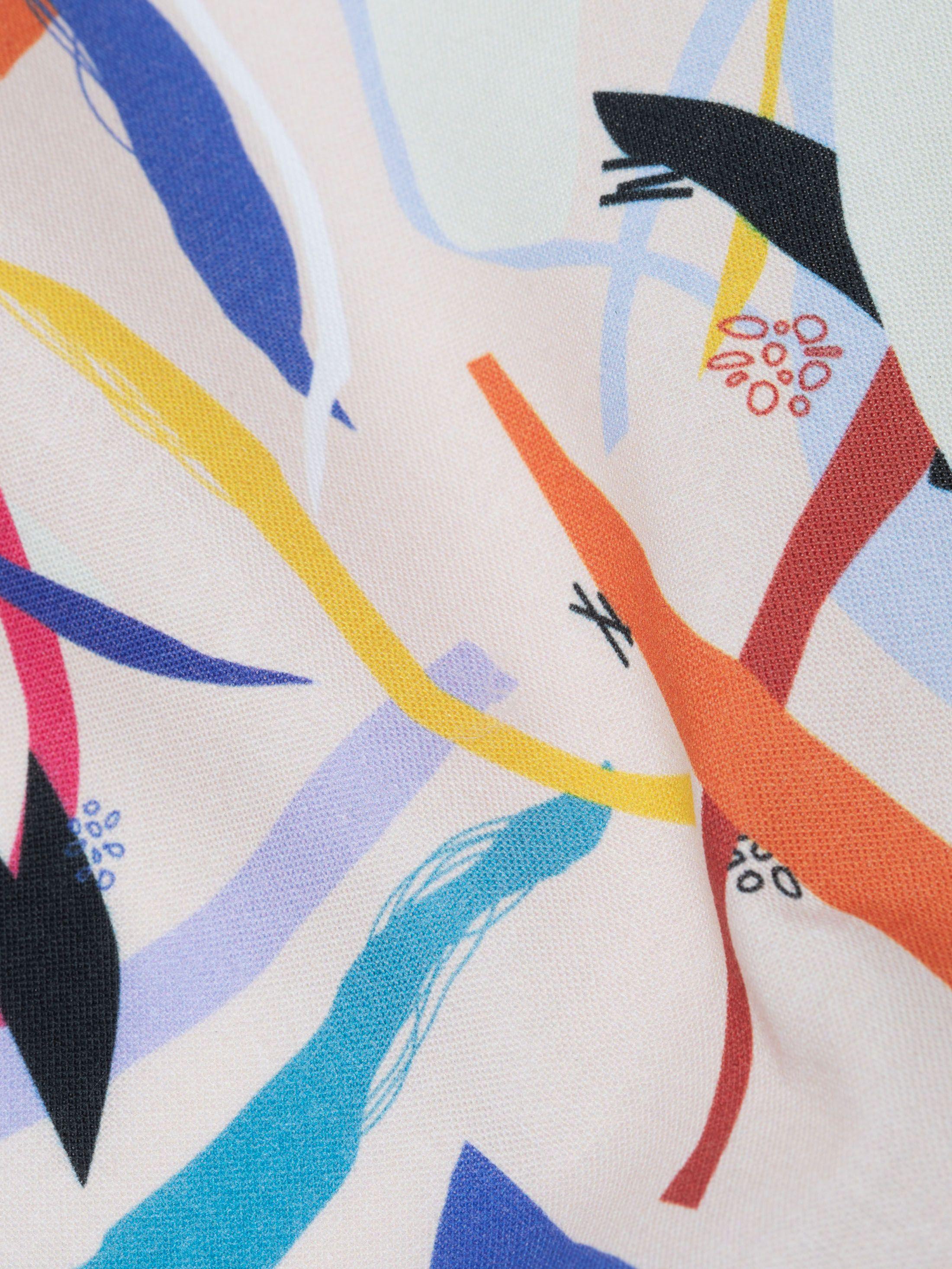 Tissu calicot avec motifs