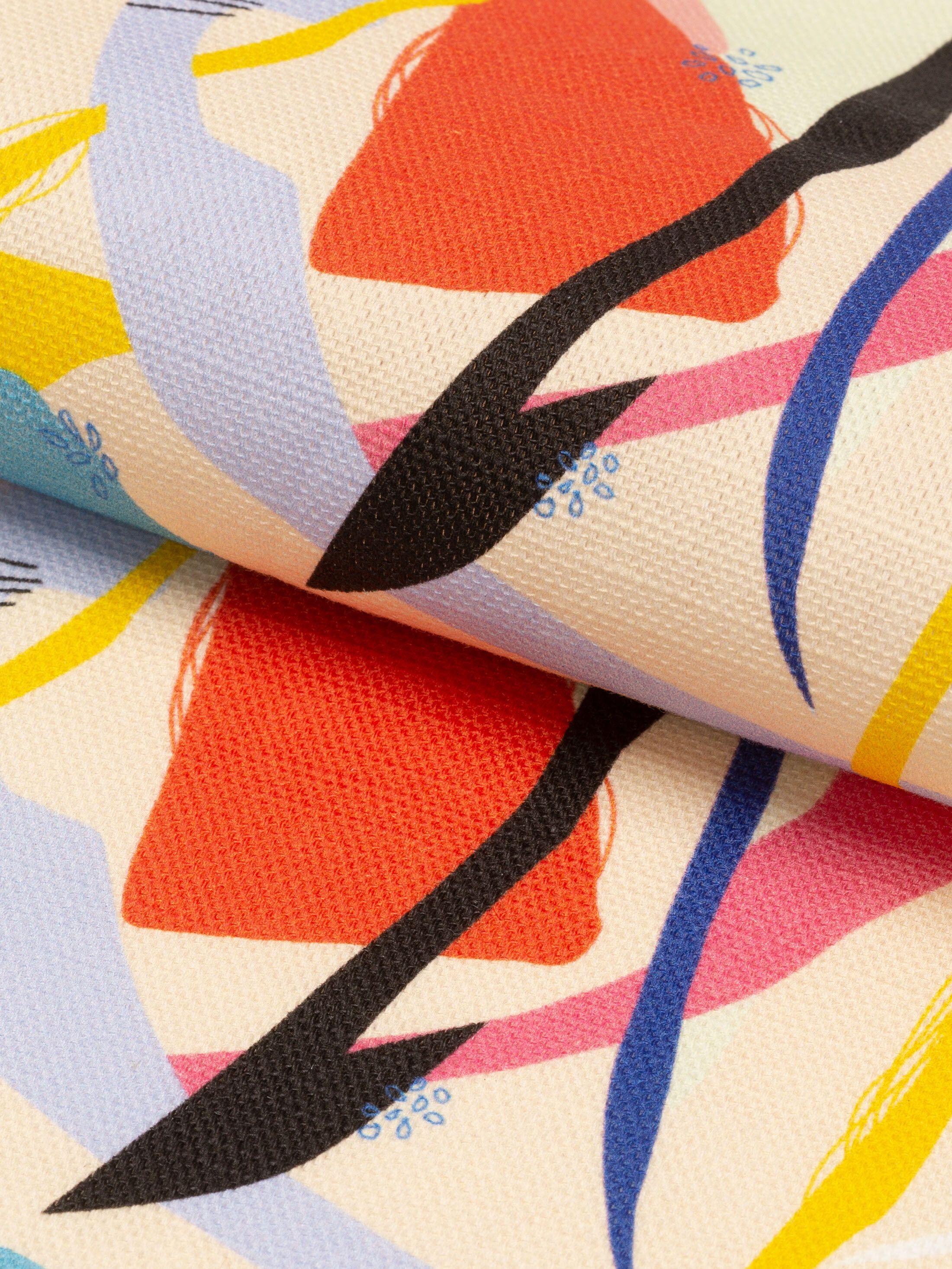 custom Cotton Linen Blend fabric printing