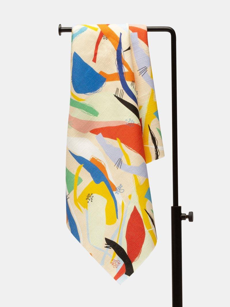 custom Cotton Linen Blend fabric