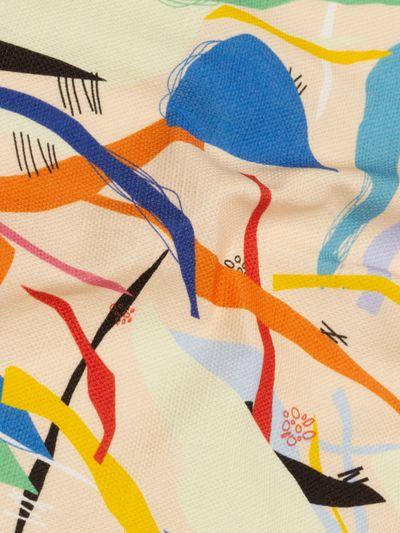 tessuto misto lino e cotone