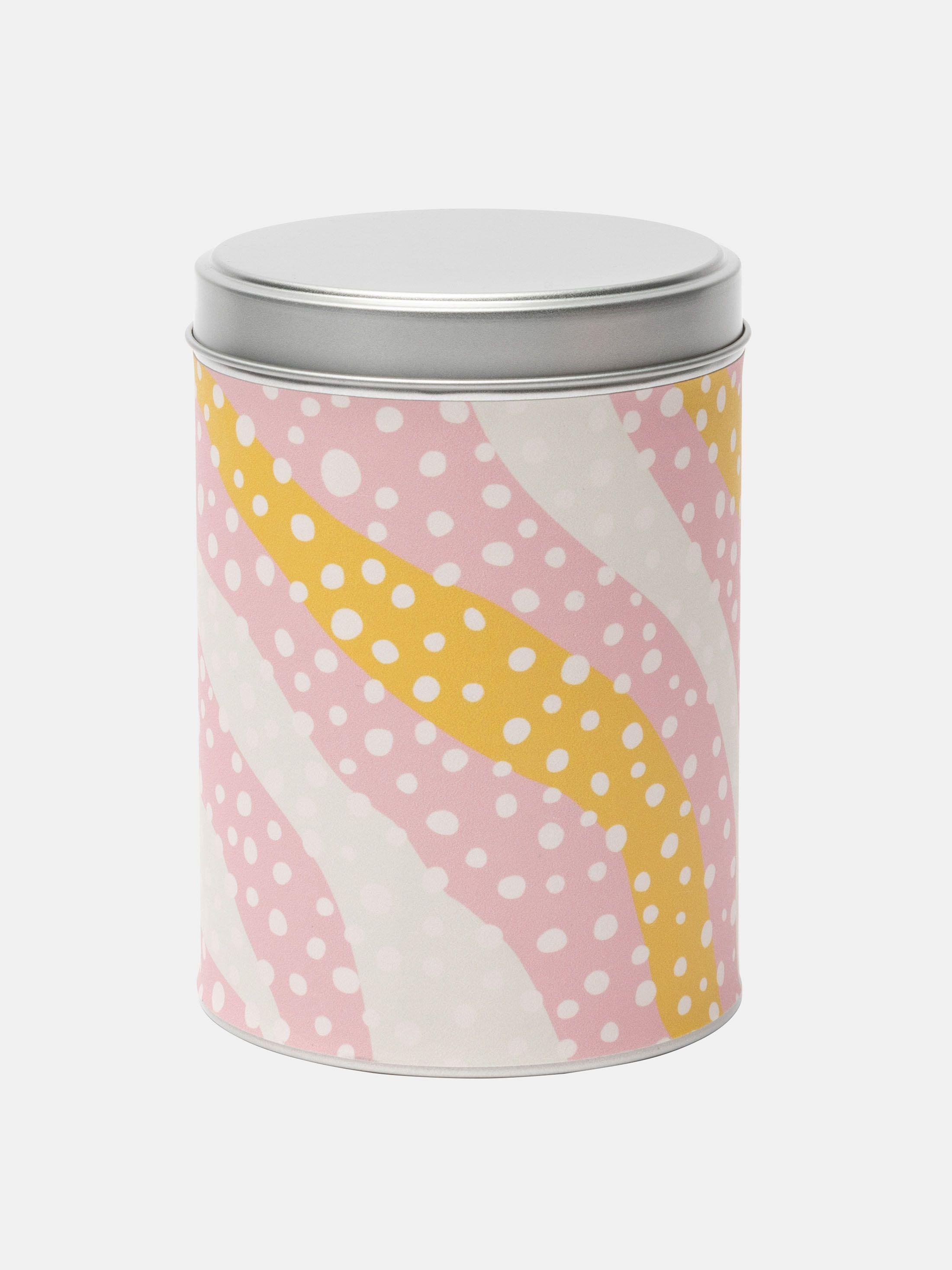 custom printed cylinder tin