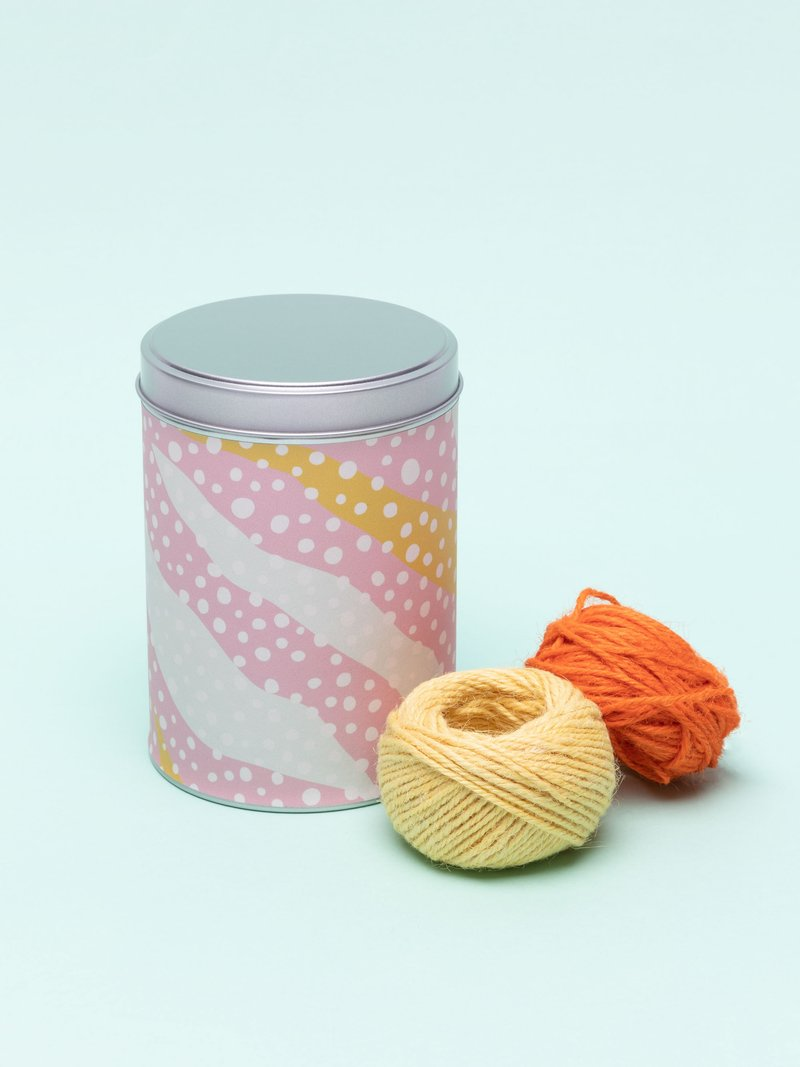 円筒缶 デザイン印刷