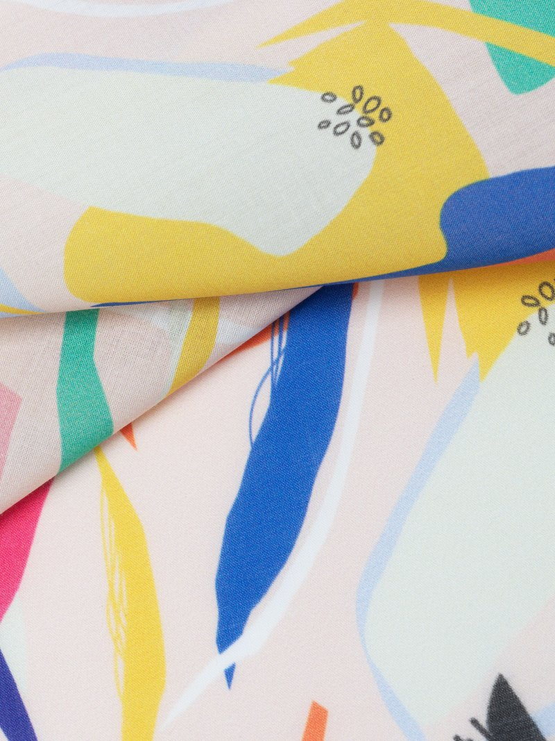 Pima Baumwollbatist-Stoff bedrucken detailansicht