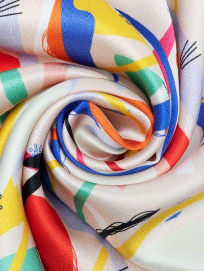 Cotton silk satin
