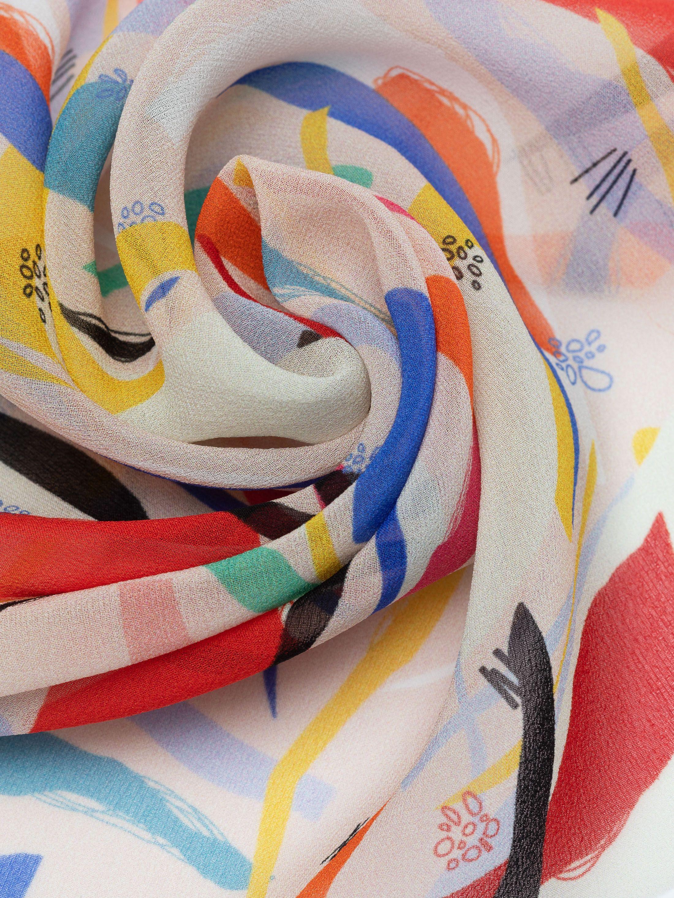 Designa ditt egna Siden Georgette textil
