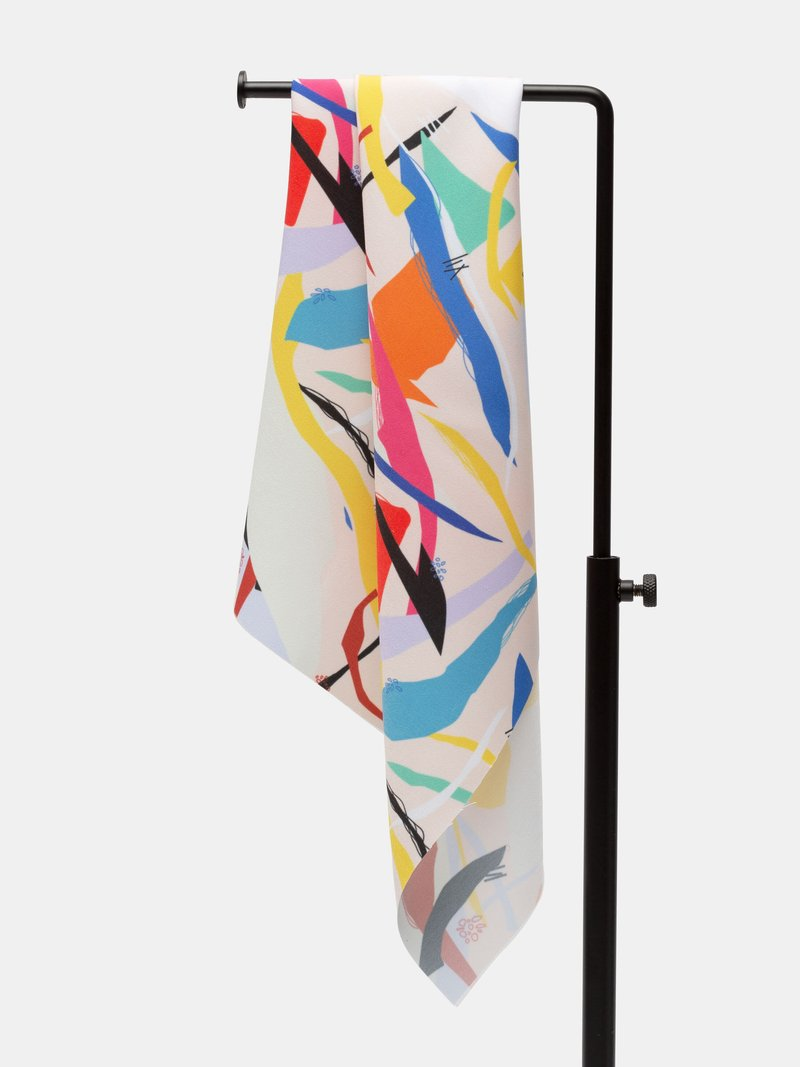 custom print peached poly sheeting fabric