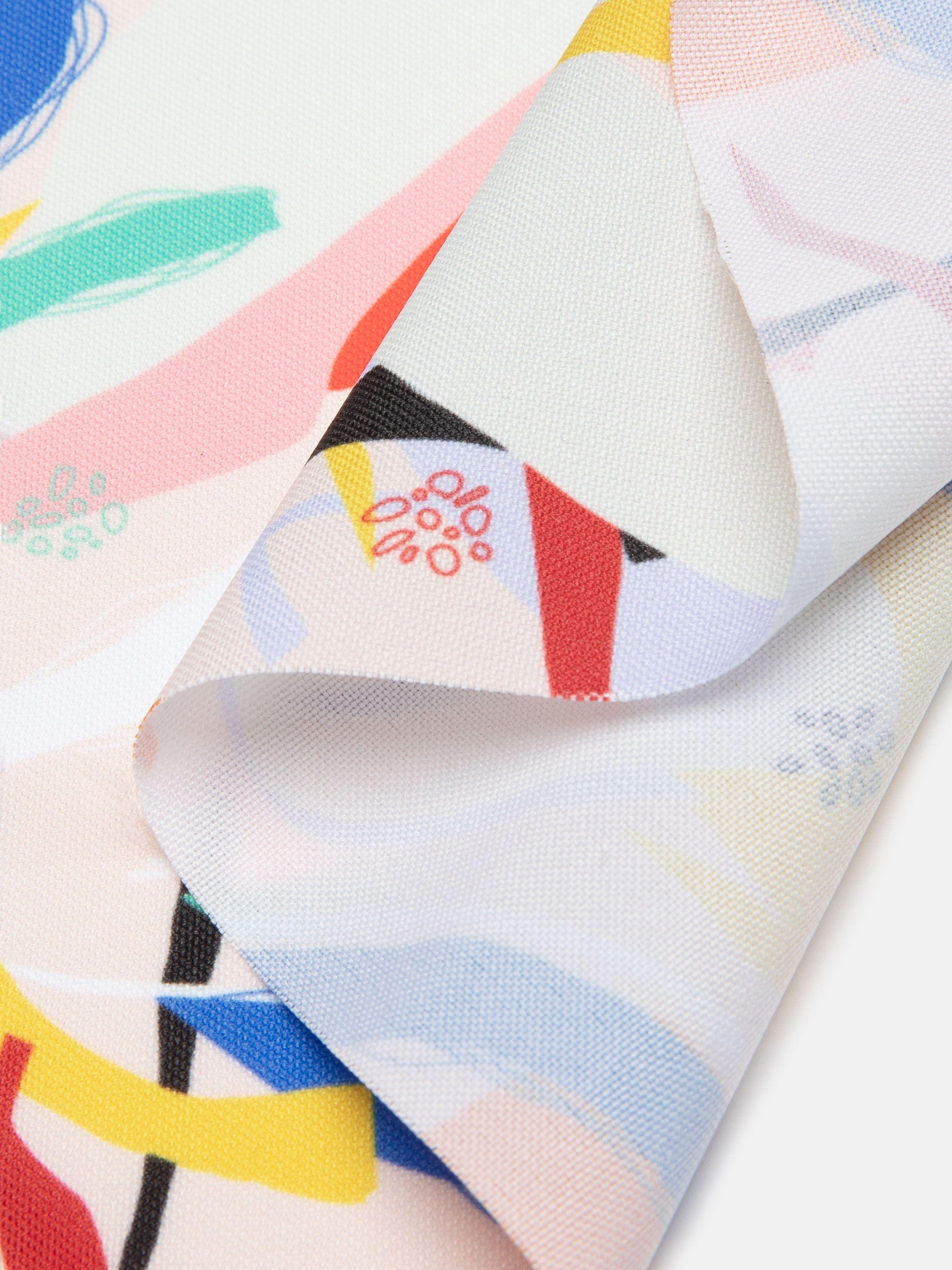 digital printing on Panama Flo fabric