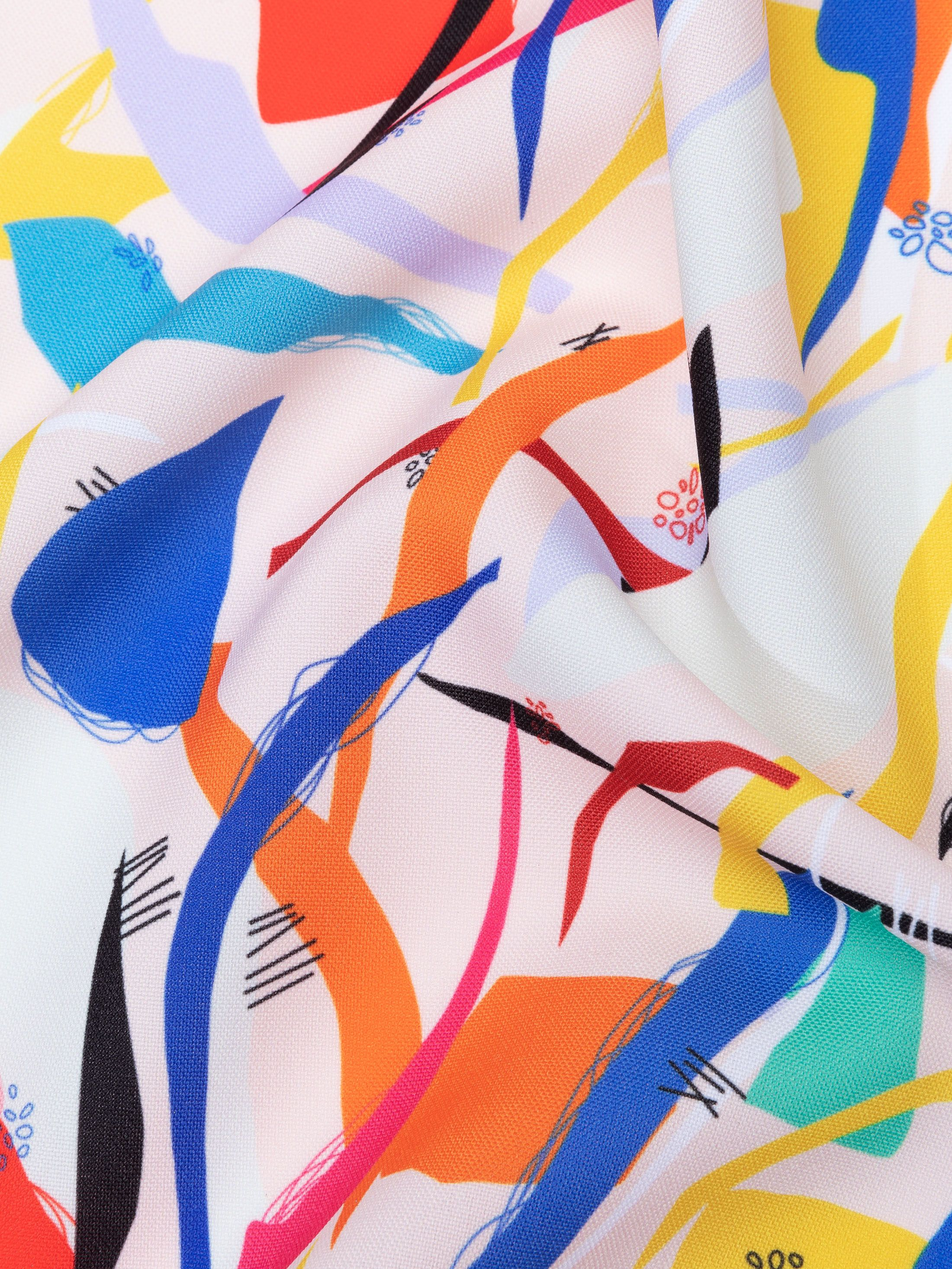 custom Panama Flo fabric