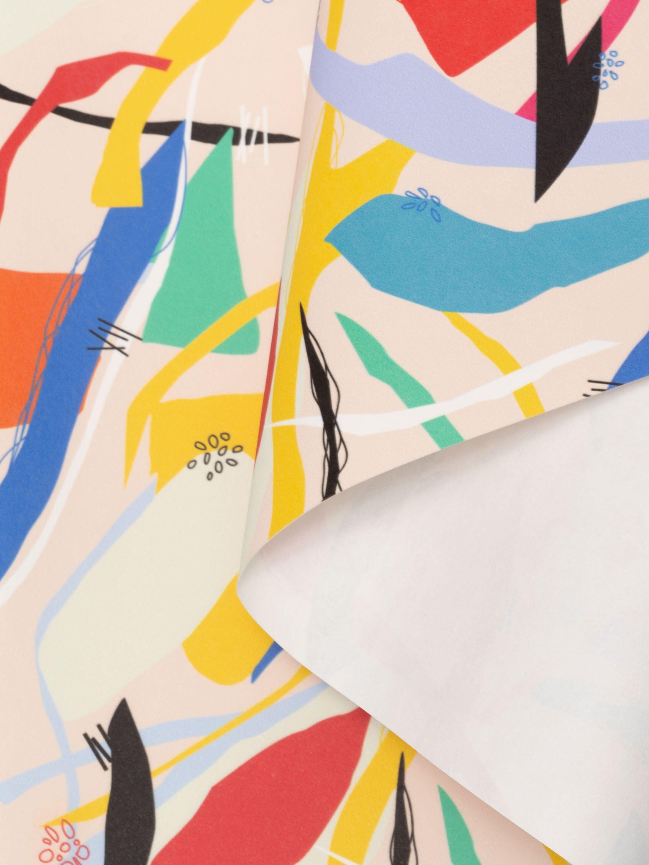 scroll papier stoff bedrucken lassen eigenes design