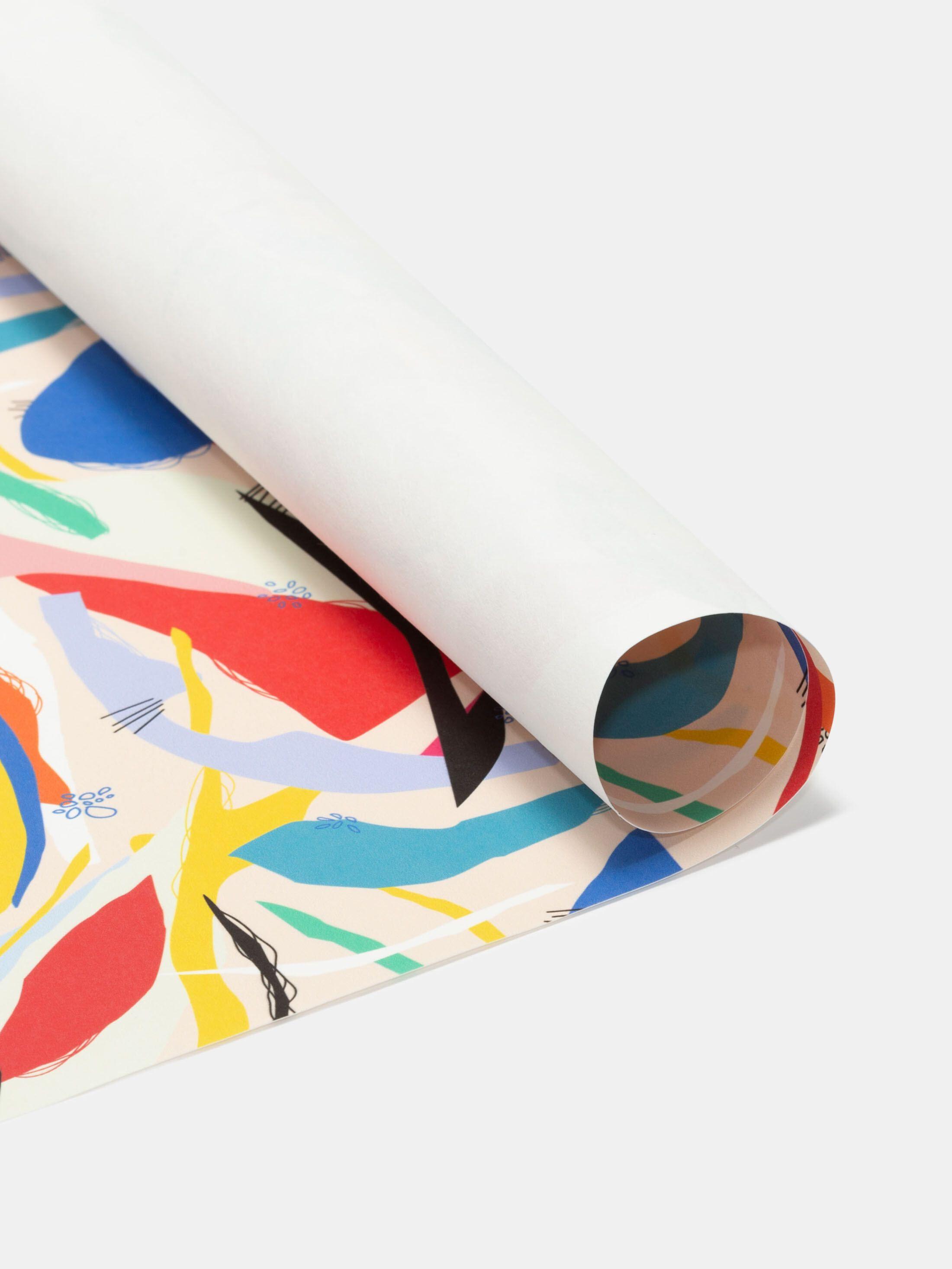 custom Scroll fabric printing crease