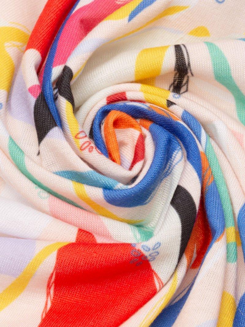 print on Jersey stretch fabric
