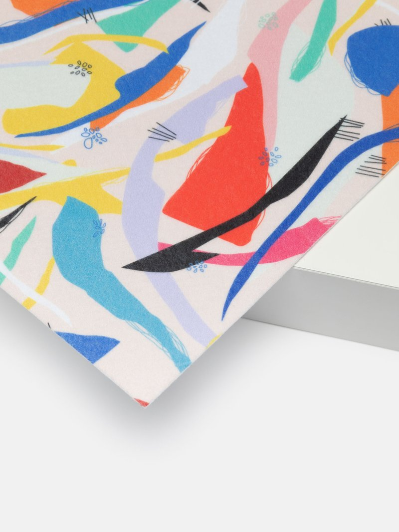 buy print on Felt fabric