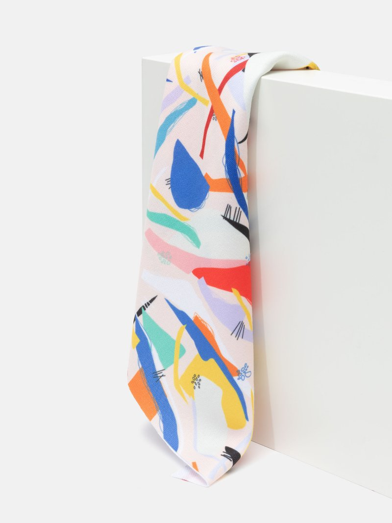 print Loop Back Jersey fabric