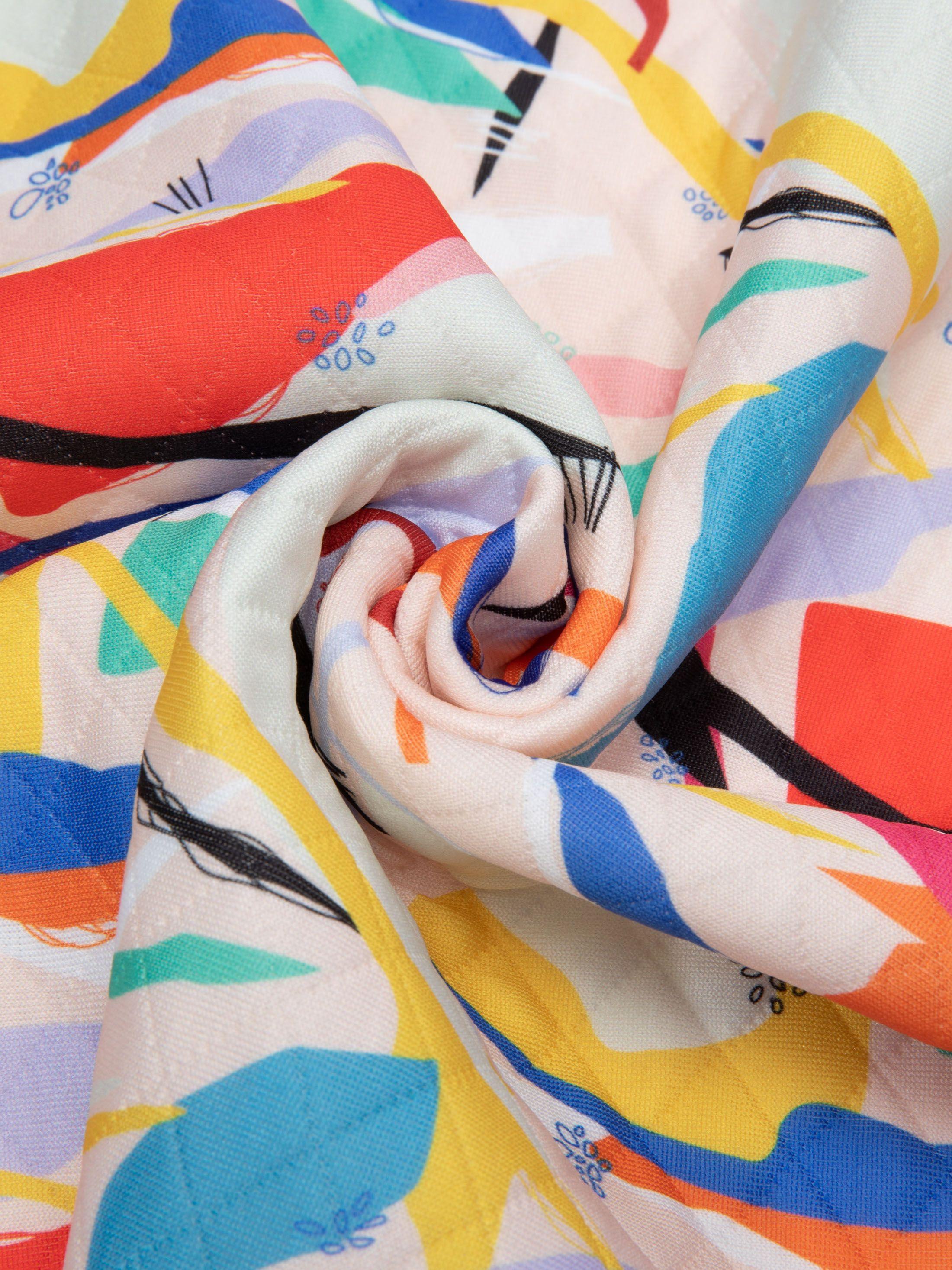 tejido acolchado impreso a medida