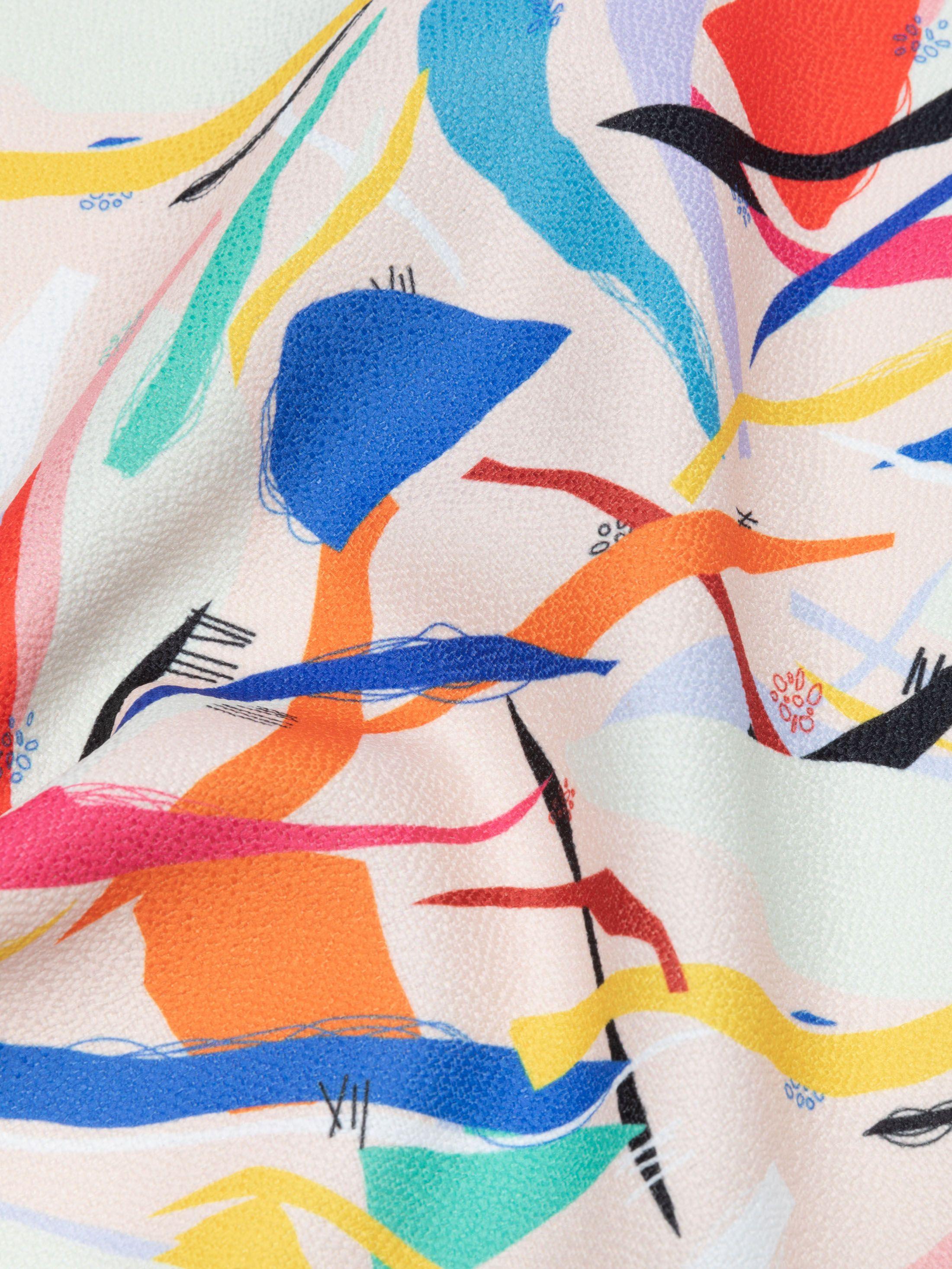 custom Gaia Eco Woven fabric green fabric