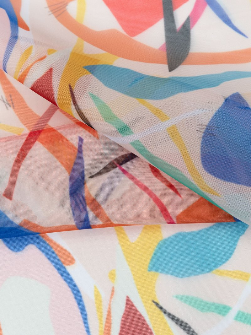 Tessuto personalizzato misto lana-seta