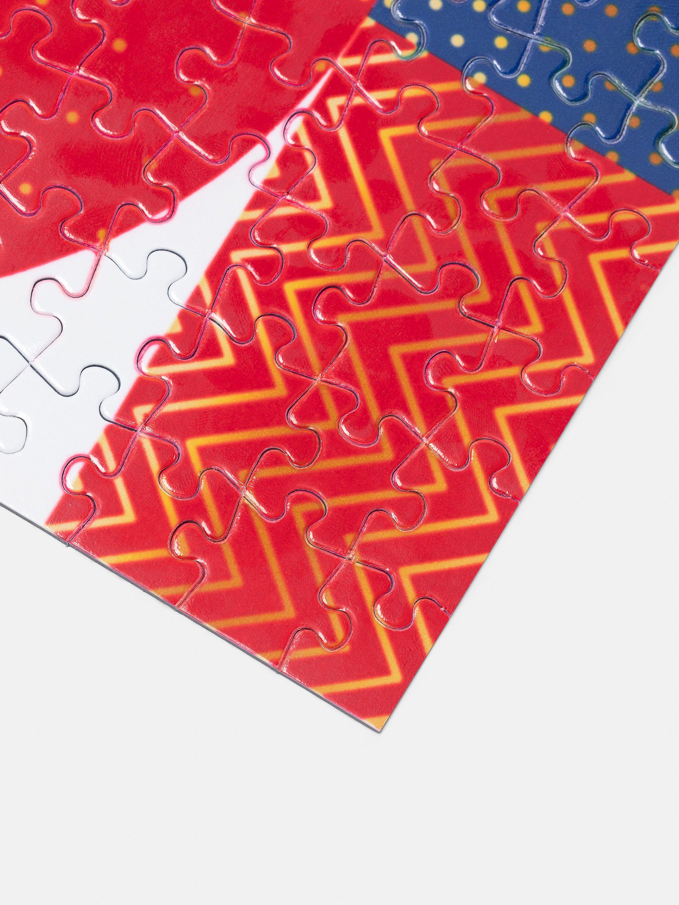Puzzle Personalizzato 500 Pezzi in borsetta di seta