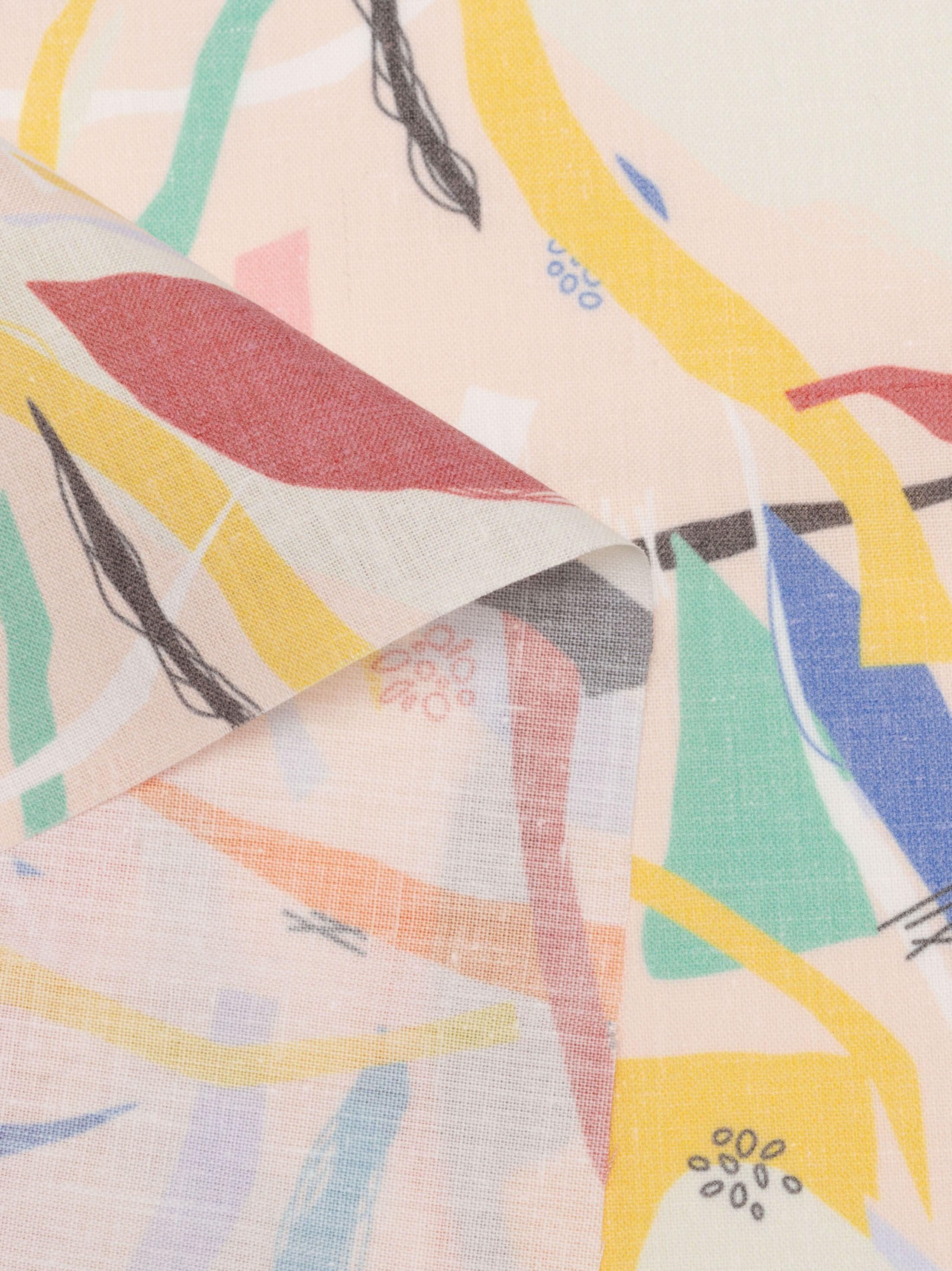 printing Vintage Fade fabric on demand