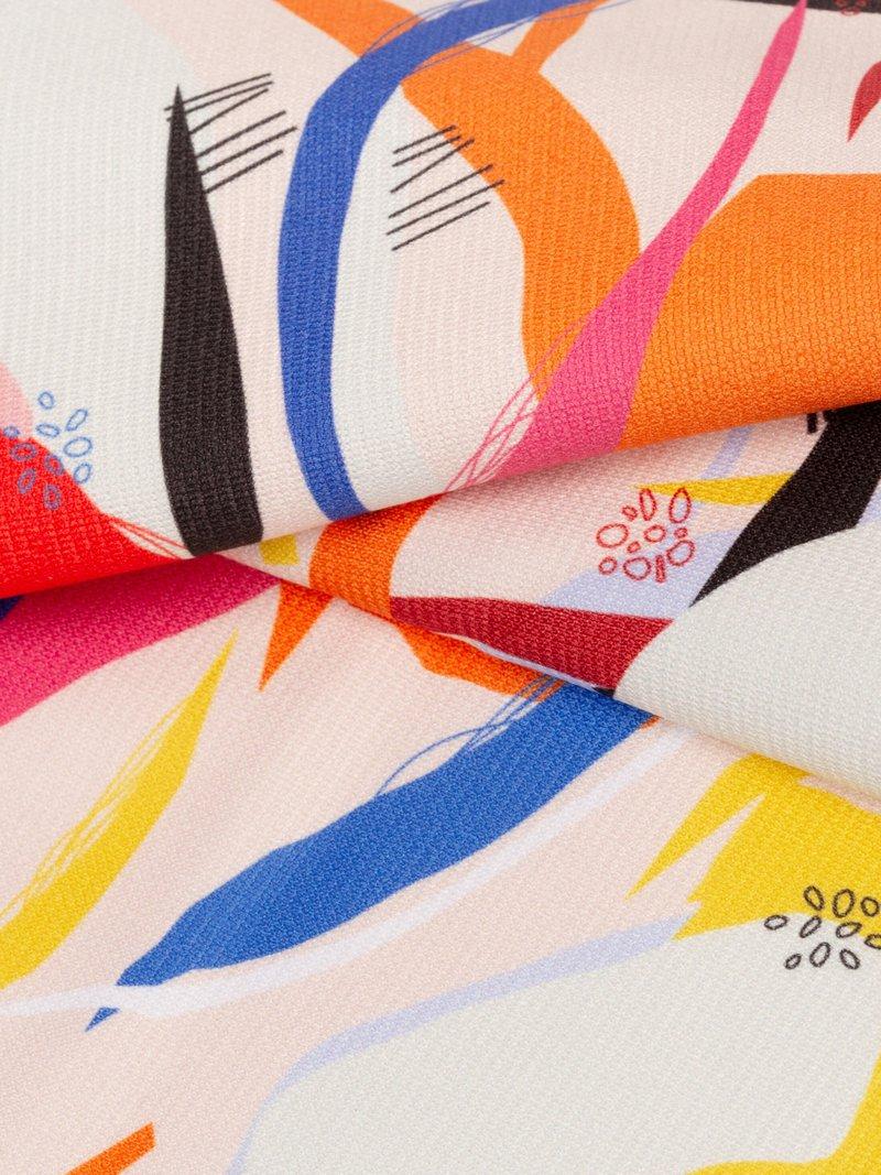 Heavy jersey fabric UK pinned detail