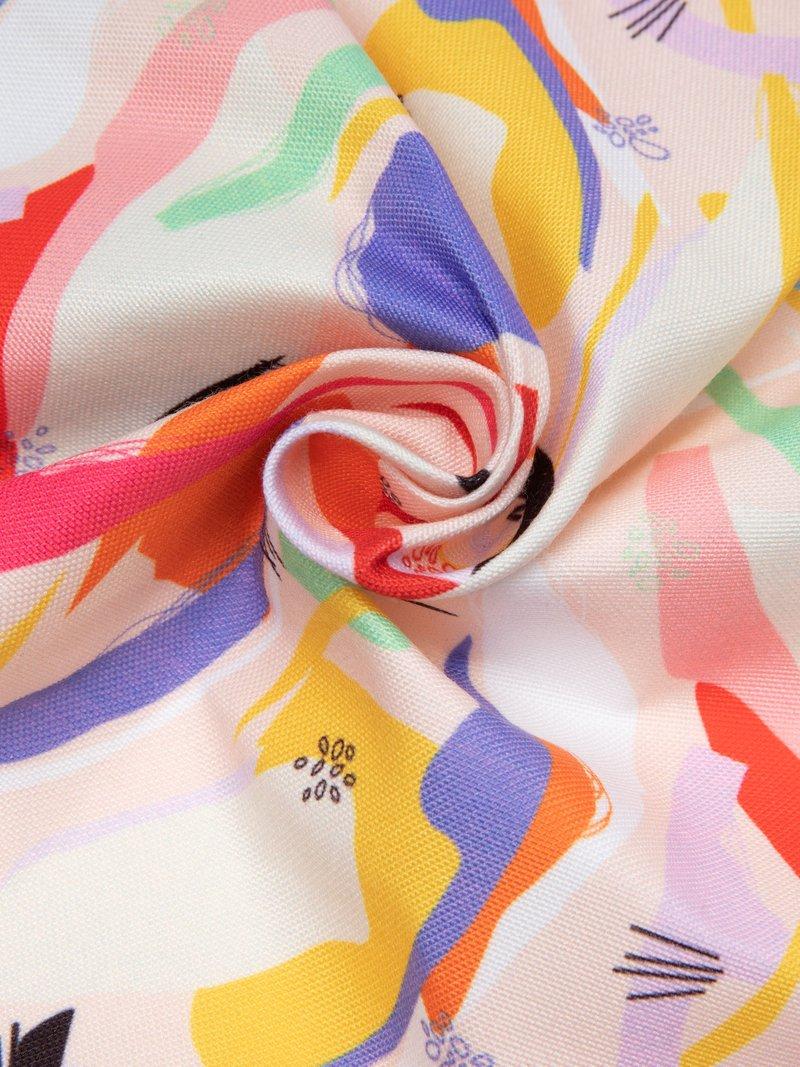 Digital printing on canvas fabric