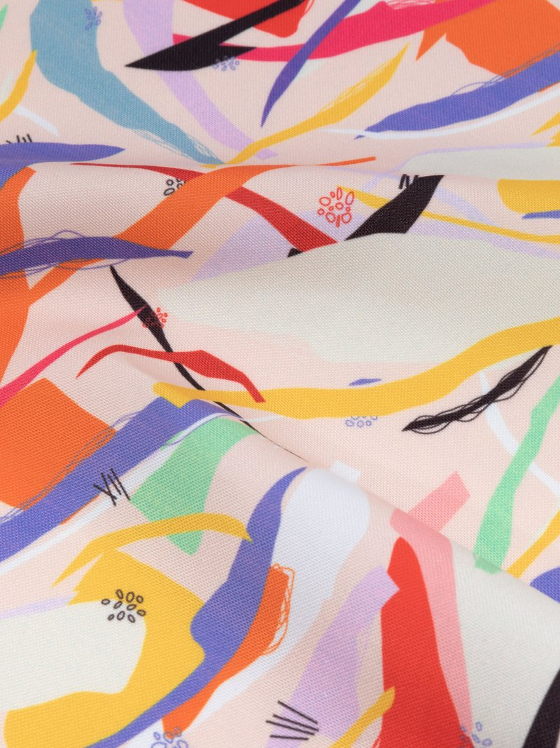 on demand Portobello Canvas Fabric Printing rough texture