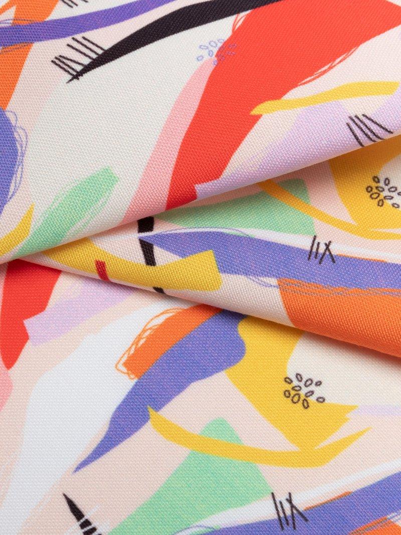 Printing on Portobello Canvas Fabric textured weave