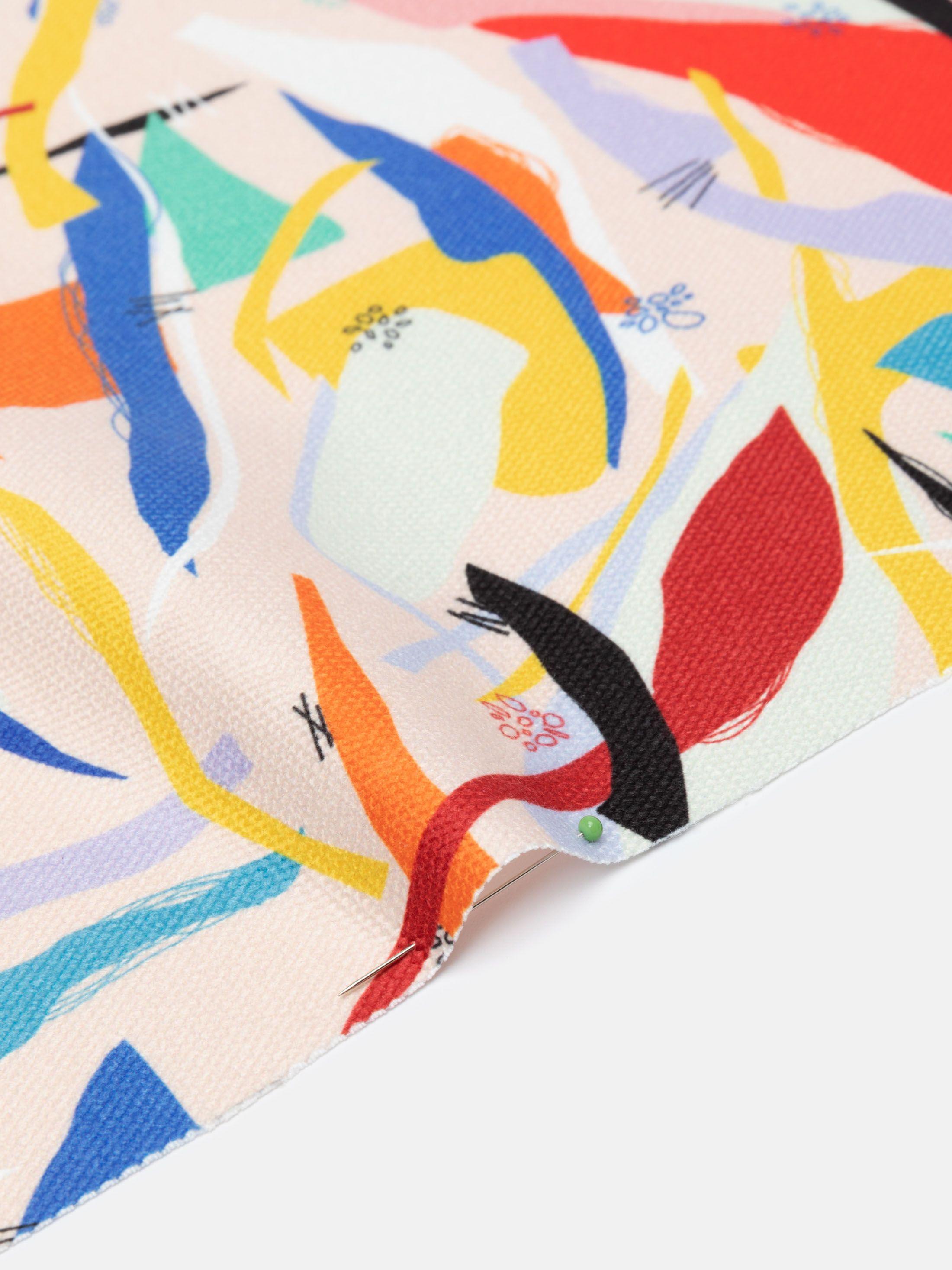 printable fabric archway edge options