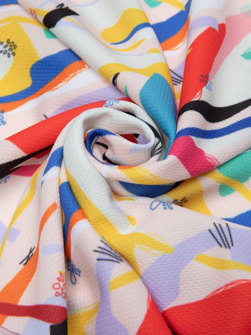 printable sportswear fabric airflow Light