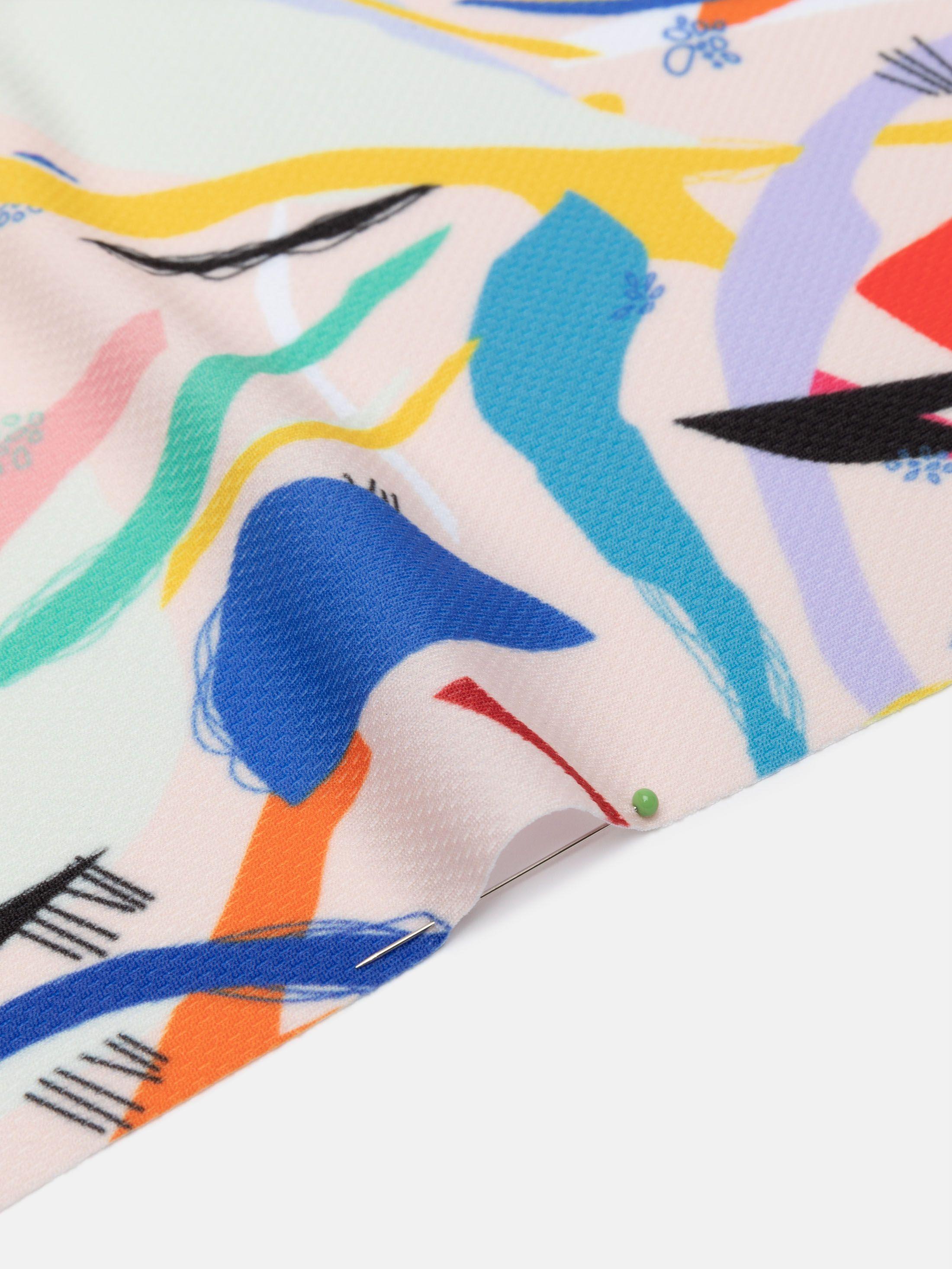 エアフロー・ライト 布印刷