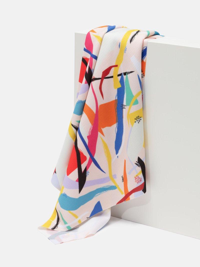 Air Flow Light breathable print fabric