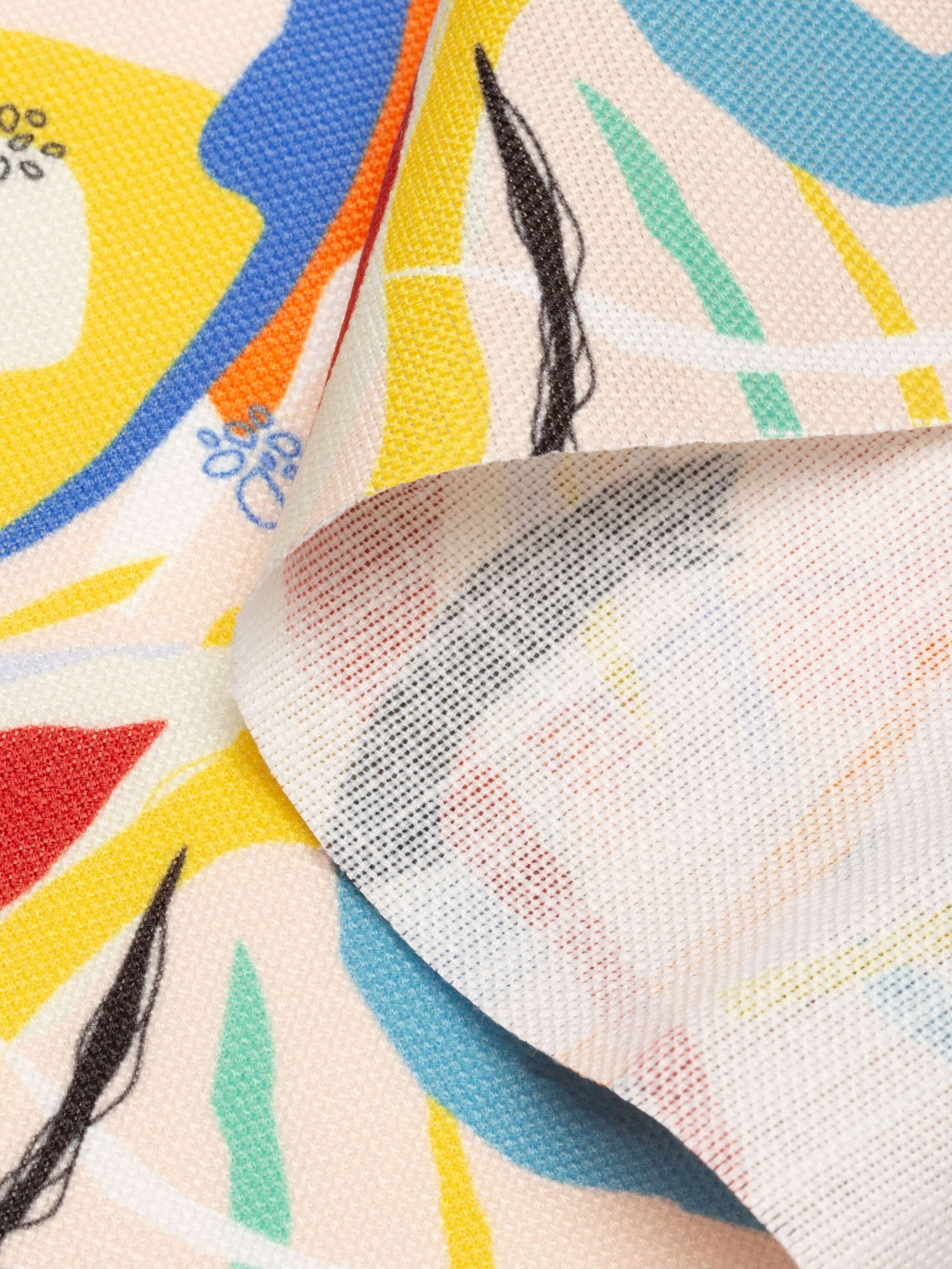 print Dorchester Weave fabric