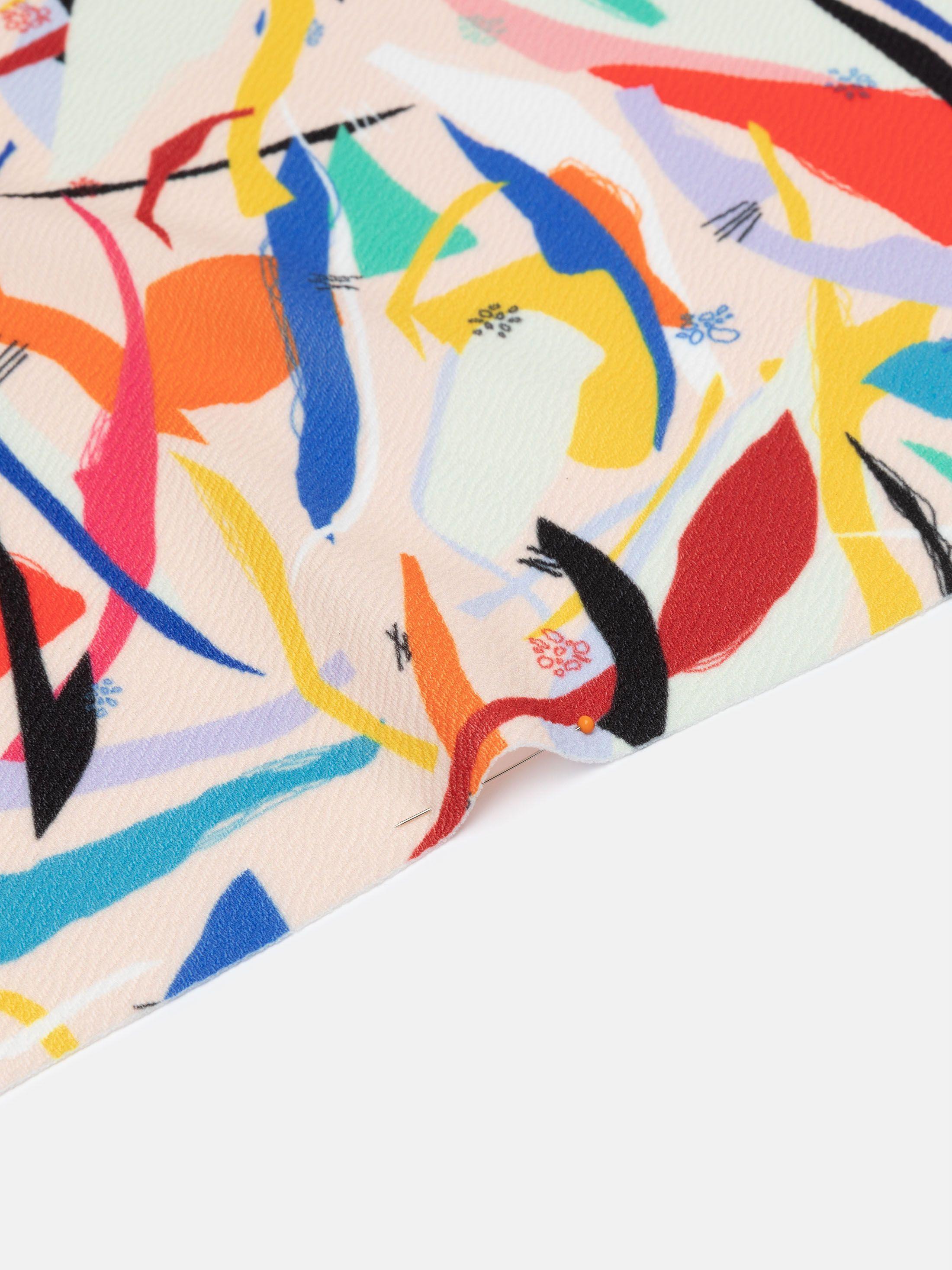 dettaglio stampa crepe elasticizzata