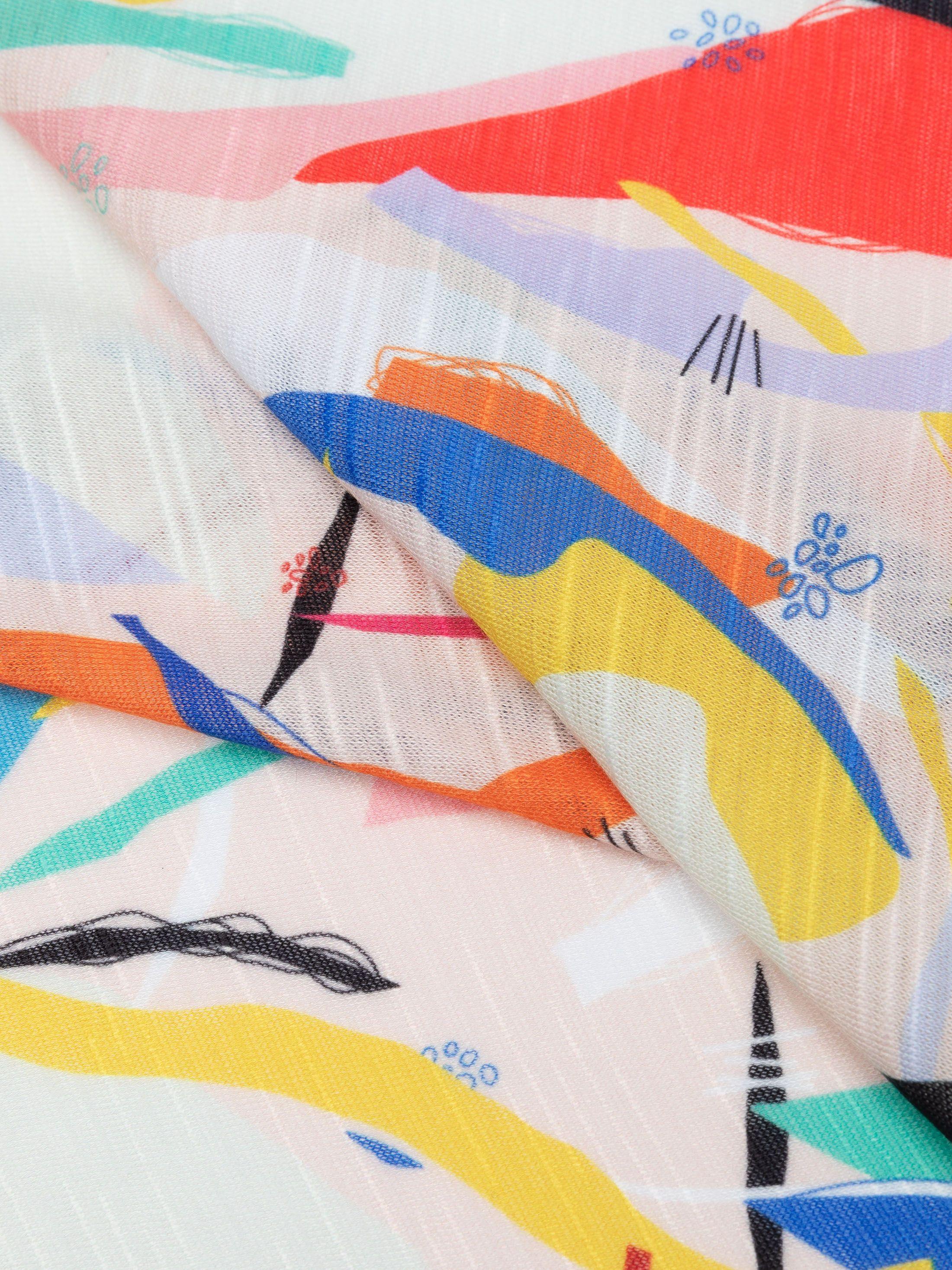slub knit jersey fabric edge options