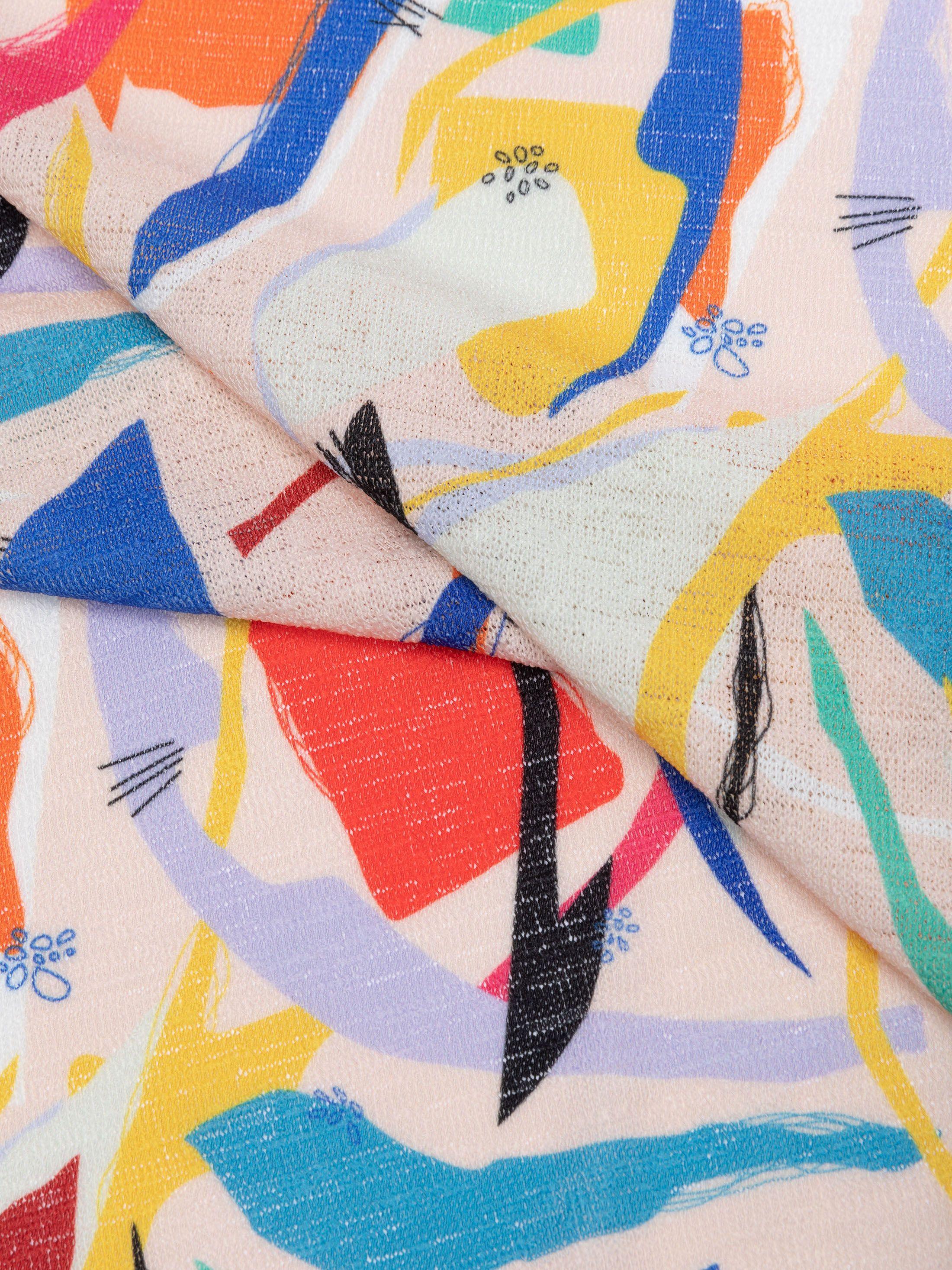 Impresión en punto tricot estampado a medida